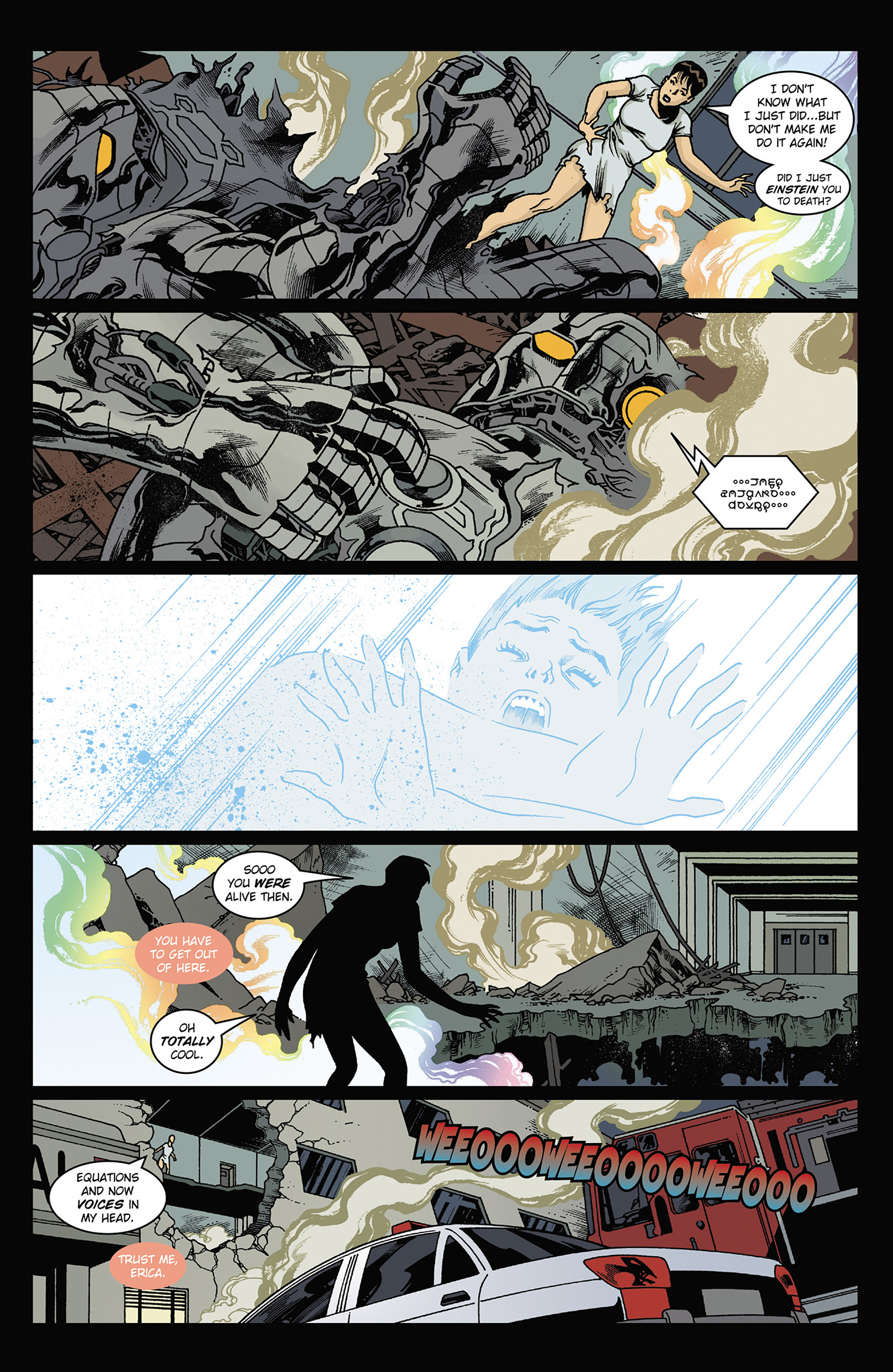 Read online Solar: Man of the Atom (2014) comic -  Issue #2 - 22