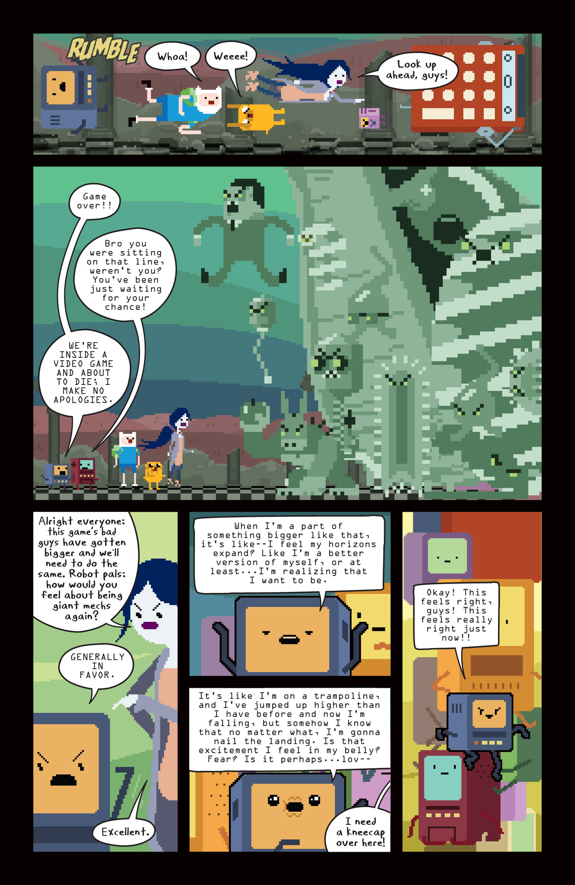 Read online Adventure Time comic -  Issue #14 - 15