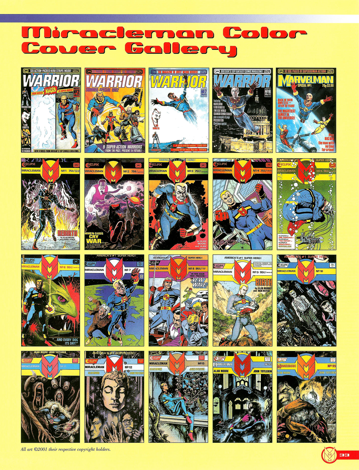 Read online Kimota!: The Miracleman Companion comic -  Issue # Full - 34