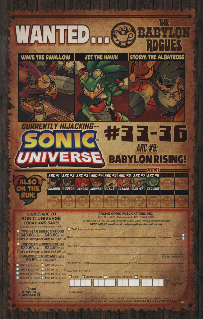 Read online Sonic Universe comic -  Issue #34 - 25