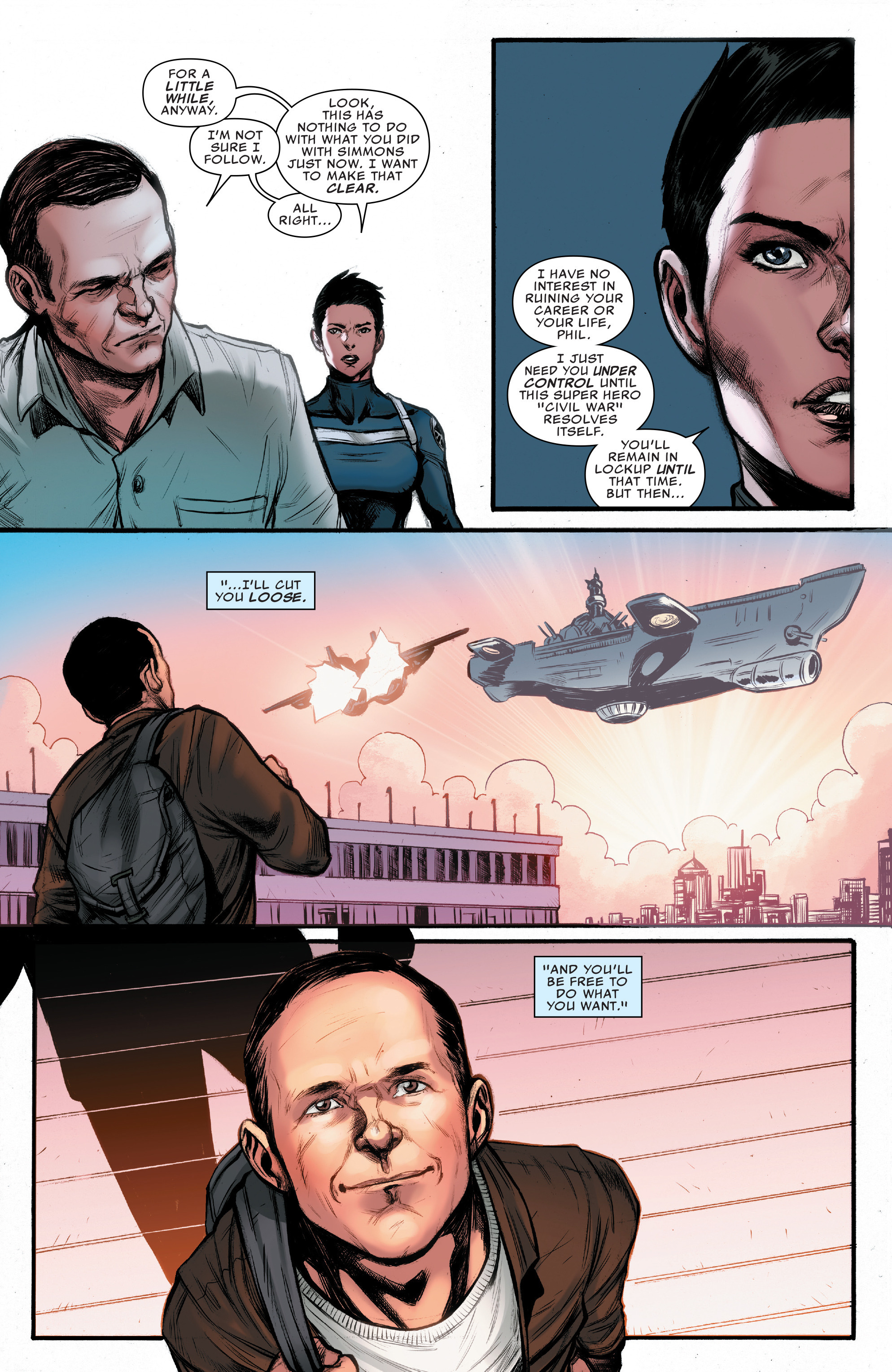 Read online Agents of S.H.I.E.L.D. comic -  Issue #10 - 19