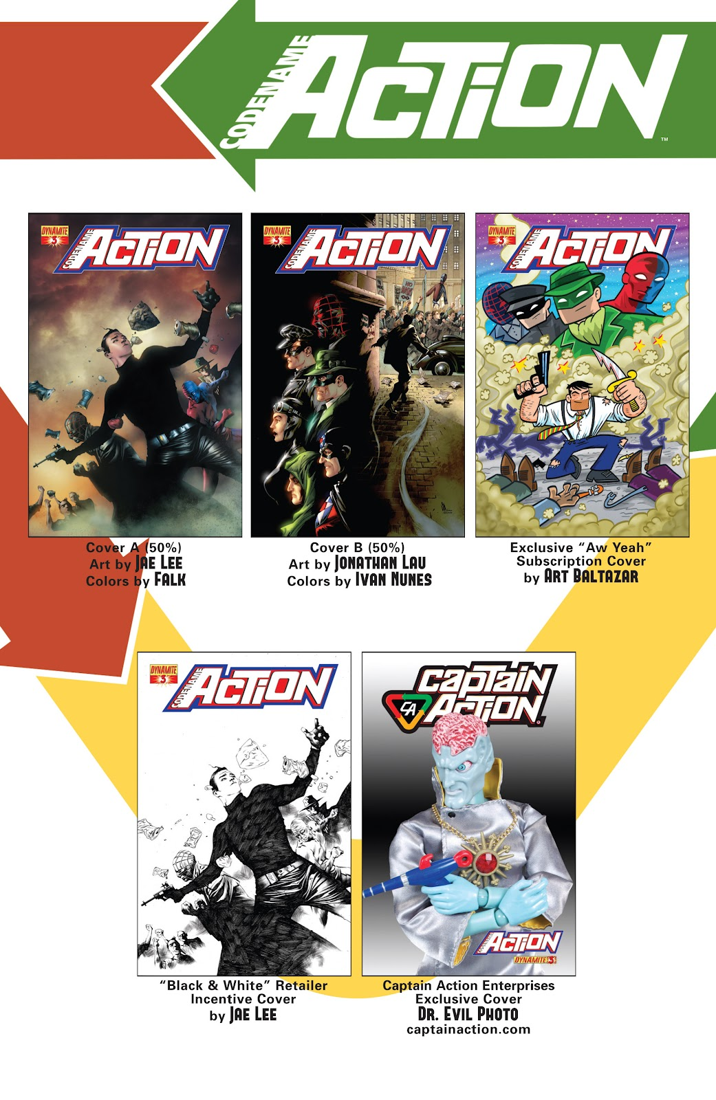 Read online Codename: Action comic -  Issue #3 - 34
