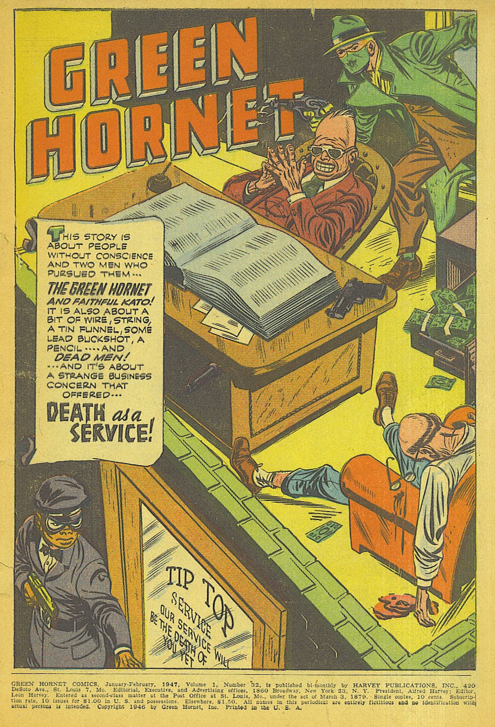 Green Hornet Comics issue 32 - Page 2