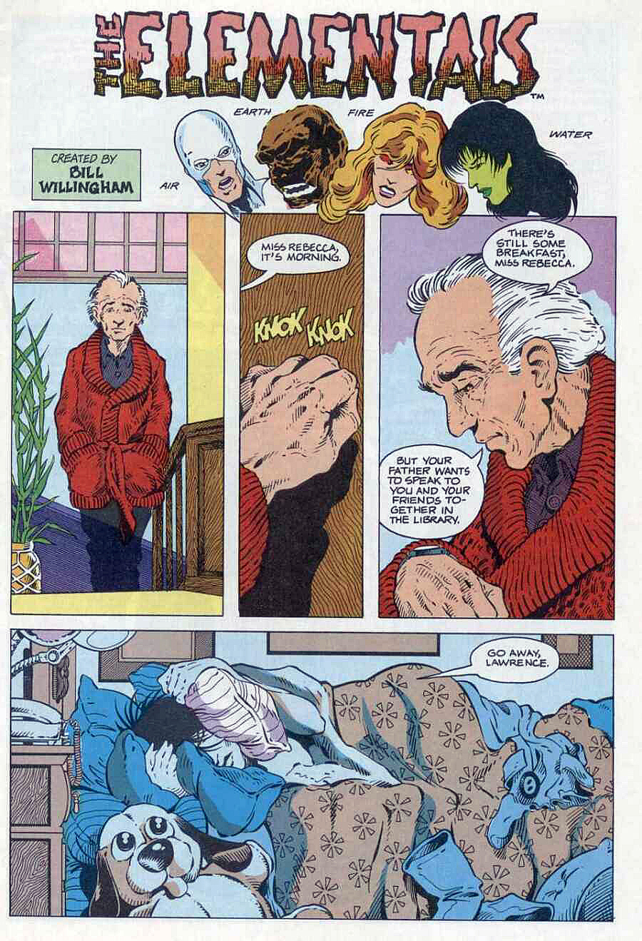 Elementals (1984) issue 1 - Page 3