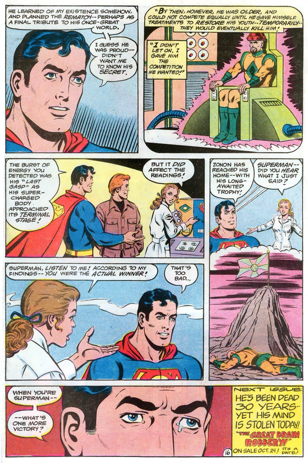 Read online Action Comics (1938) comic -  Issue #574 - 21