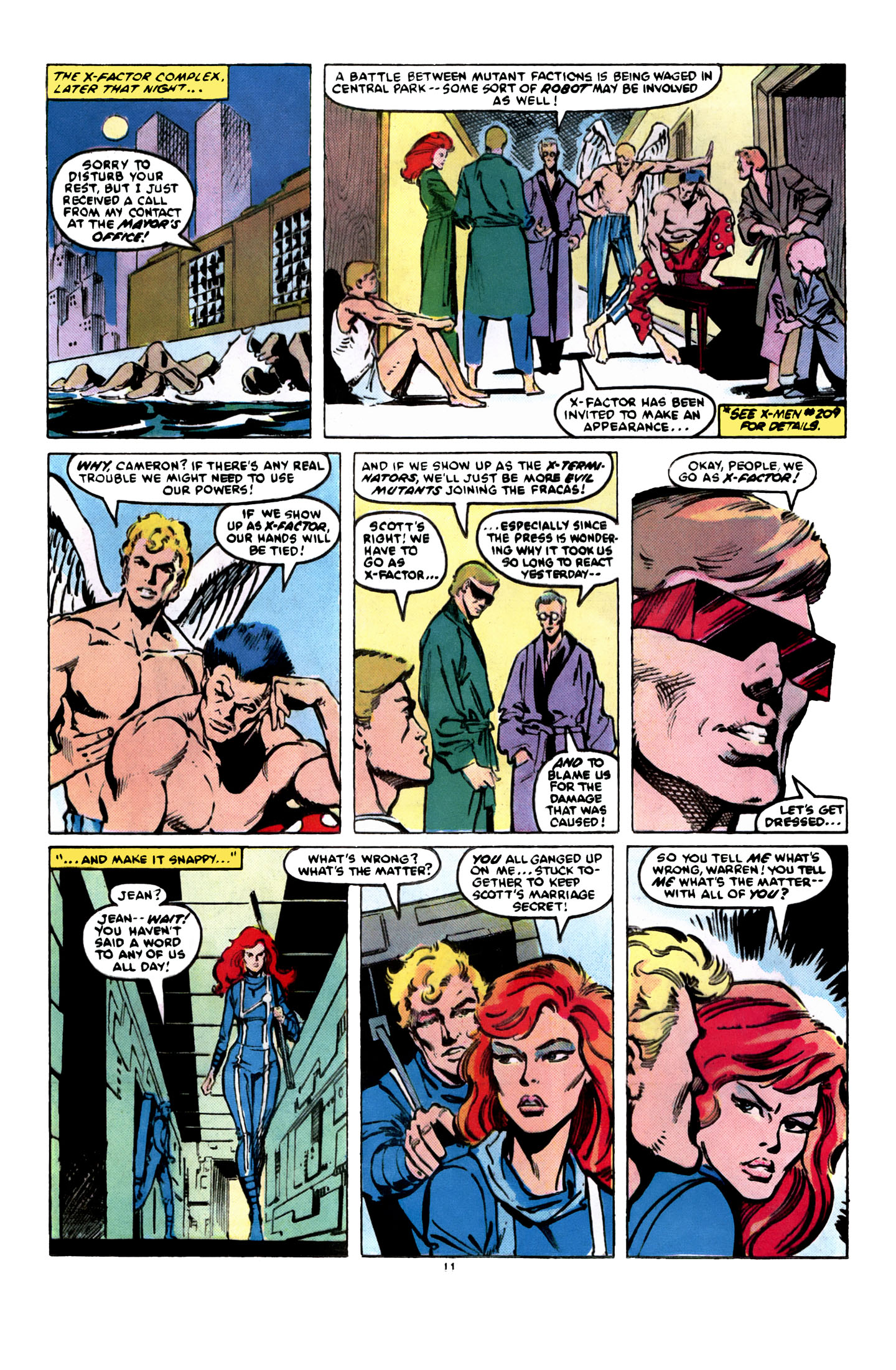Read online X-Factor (1986) comic -  Issue #8 - 12