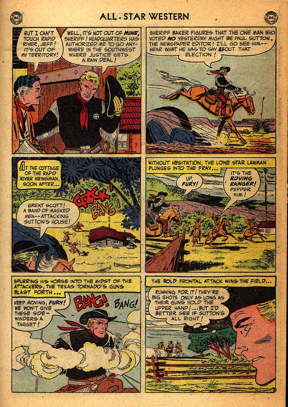 Read online All-Star Western (1951) comic -  Issue #58 - 27