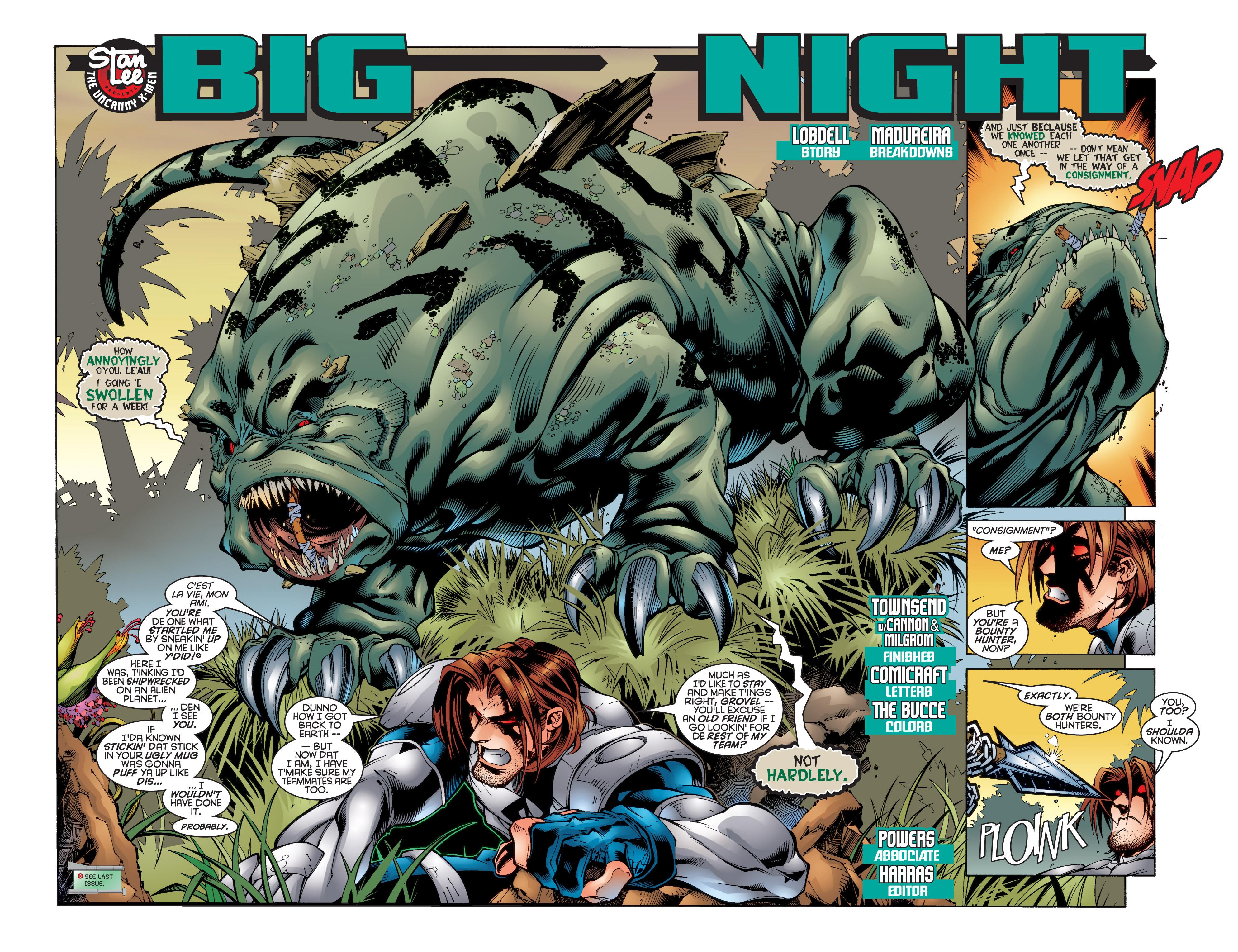 Read online Uncanny X-Men (1963) comic -  Issue #347 - 3