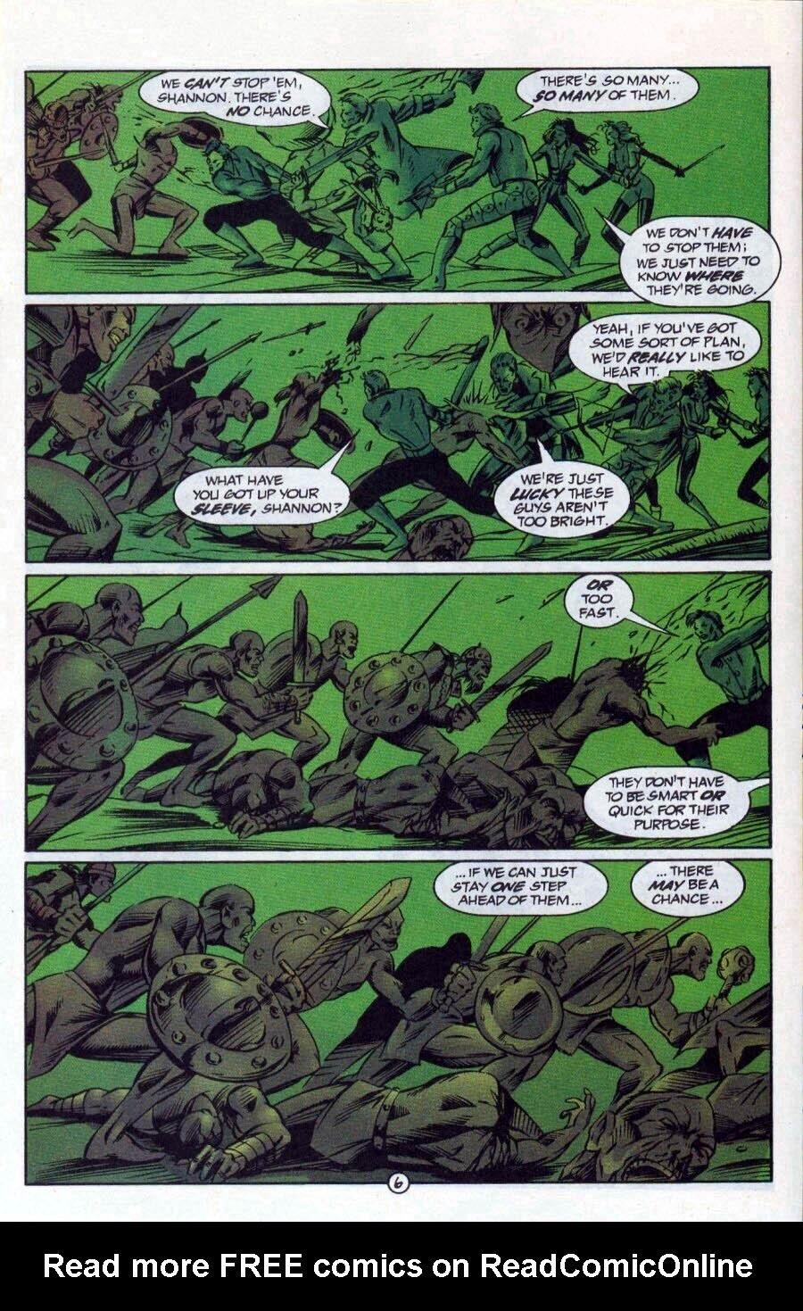 Read online Ex-Mutants comic -  Issue #17 - 7