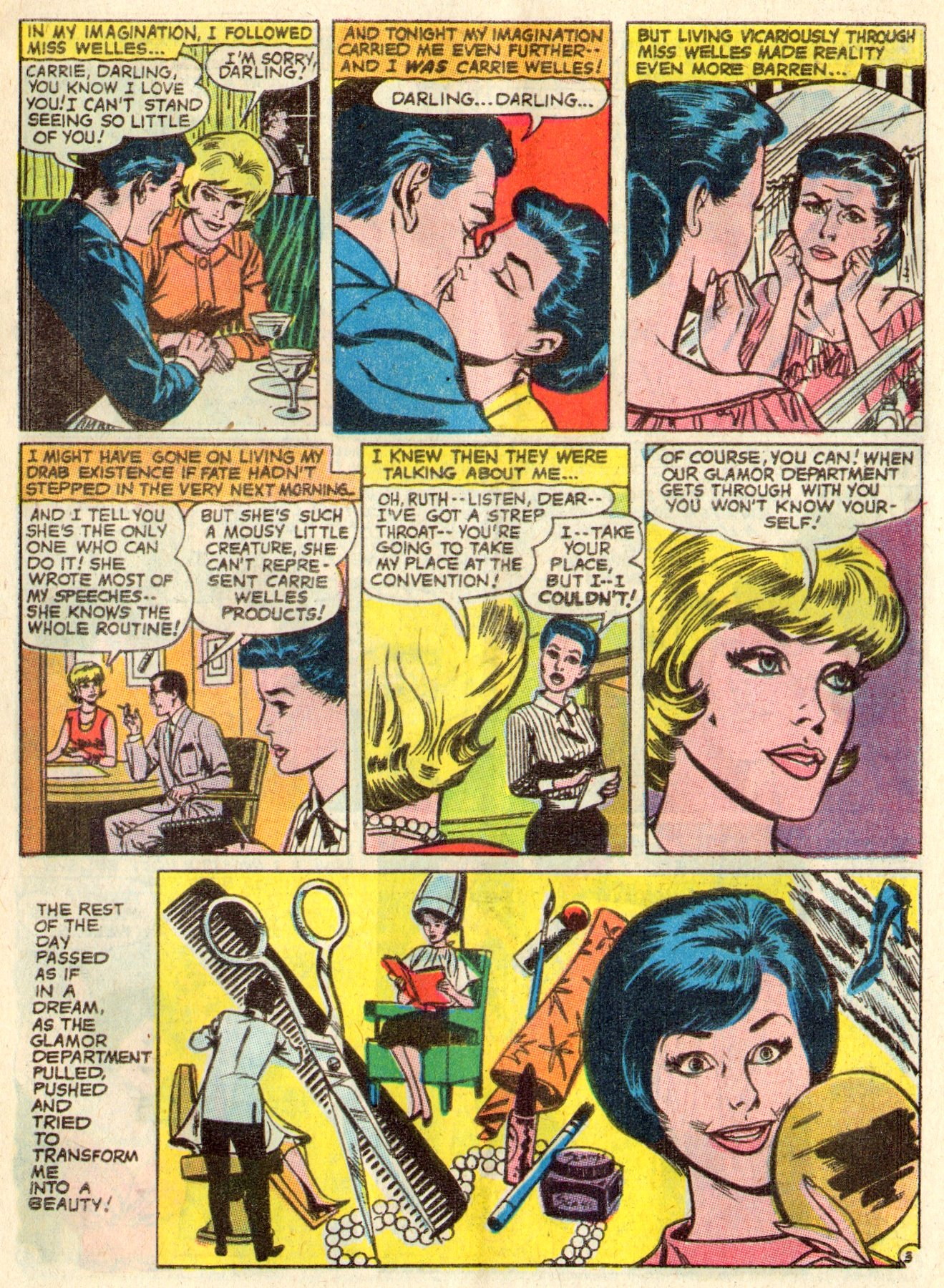 Read online Secret Hearts comic -  Issue #117 - 5