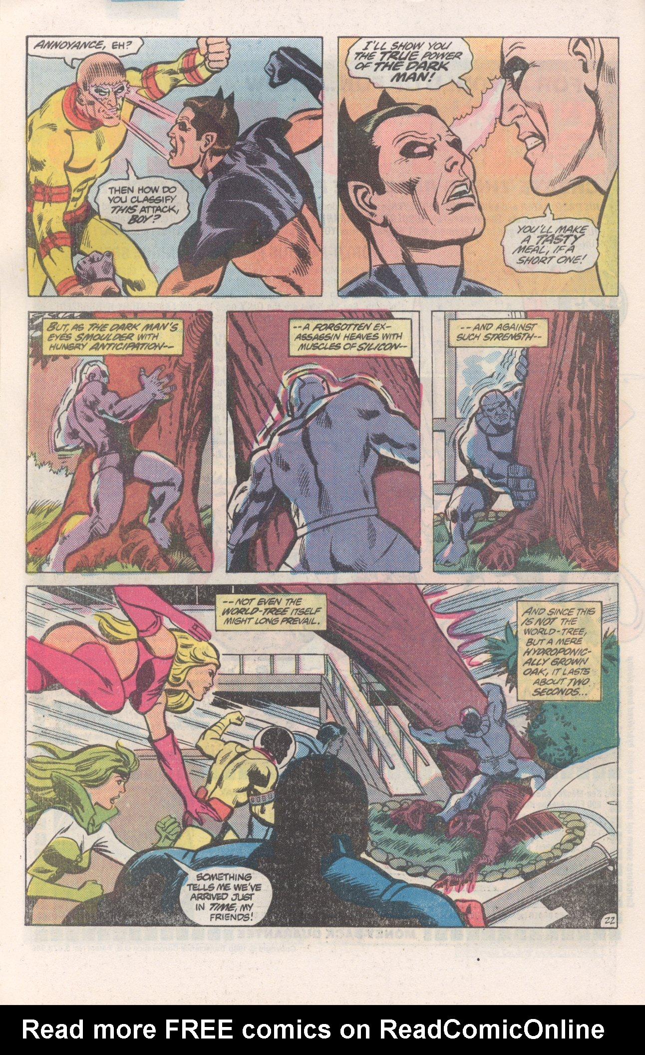 Legion of Super-Heroes (1980) 271 Page 22