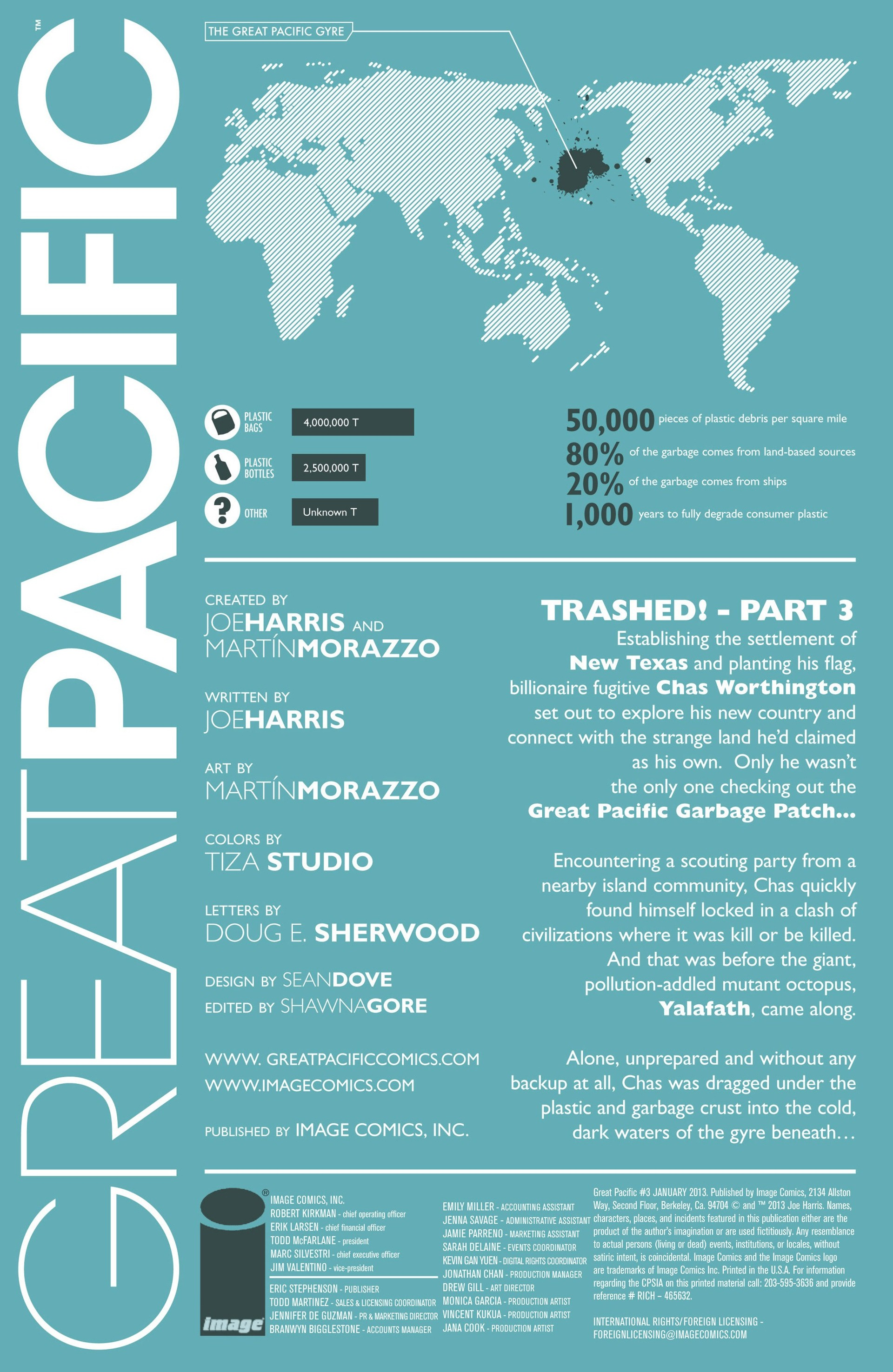 Read online Great Pacific comic -  Issue #3 - 2
