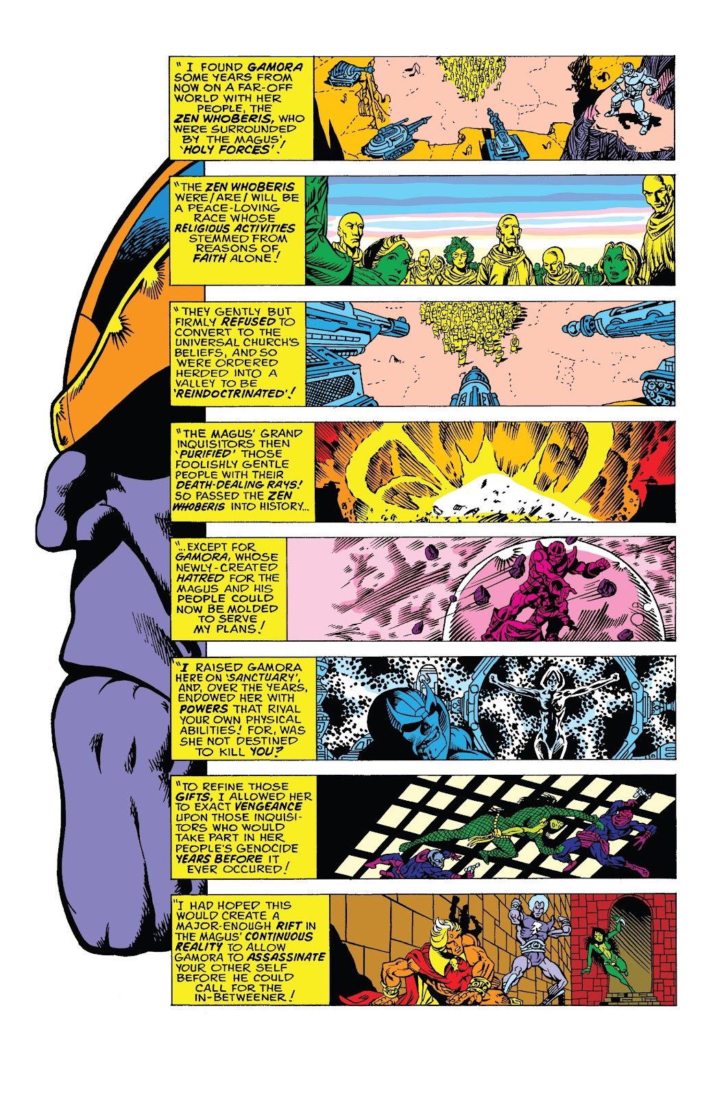 Read online Marvel Tales: Thanos comic -  Issue # Full - 21