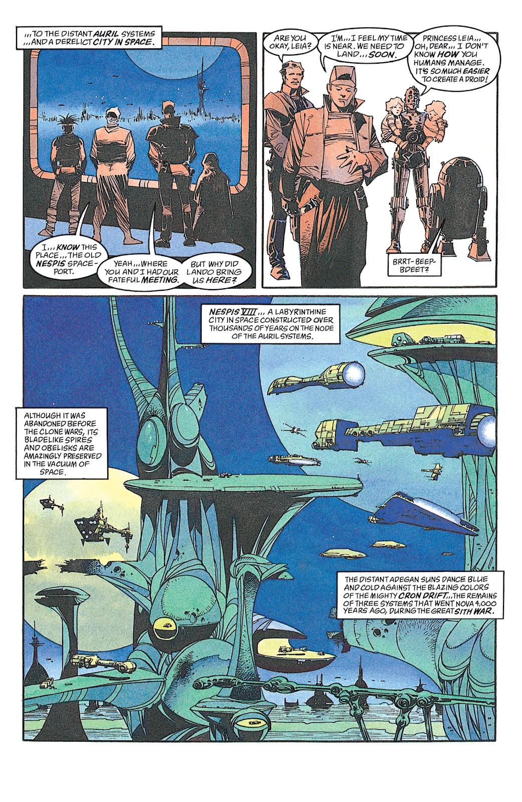 Read online Star Wars: Dark Empire Trilogy comic -  Issue # TPB (Part 4) - 3