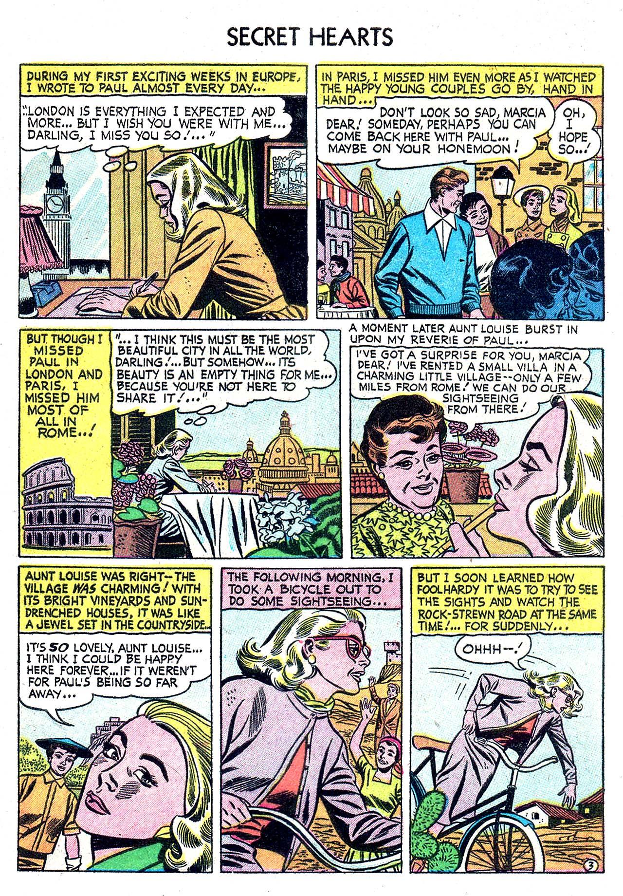 Read online Secret Hearts comic -  Issue #32 - 5