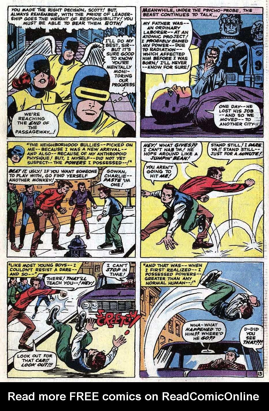 Uncanny X-Men (1963) 68 Page 39