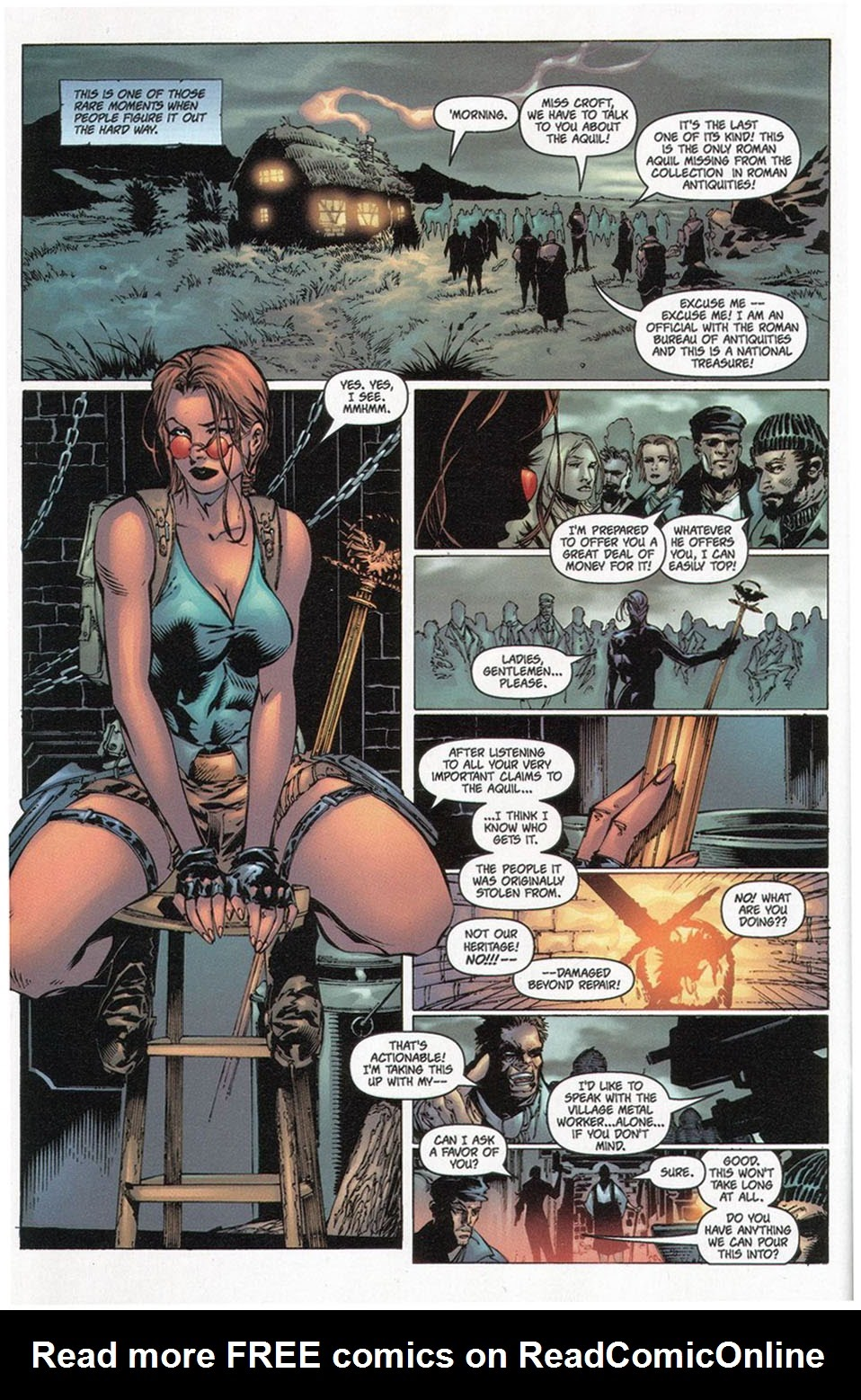 Read online Tomb Raider: The Series comic -  Issue #0 - 20