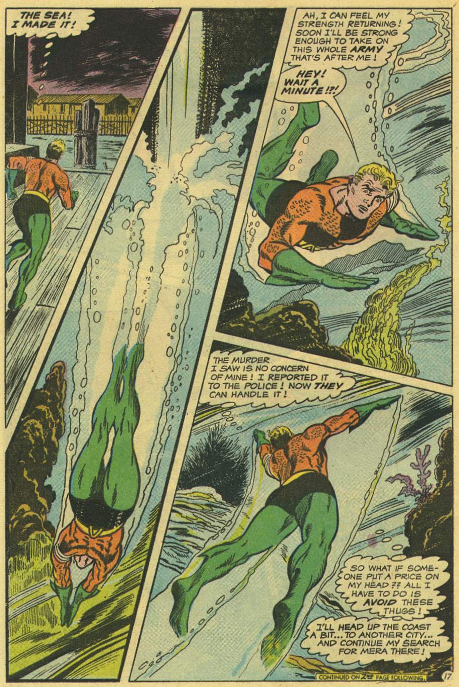 Read online Aquaman (1962) comic -  Issue #44 - 24