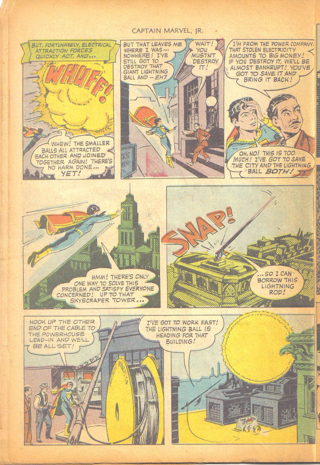 Captain Marvel, Jr. issue 95 - Page 9