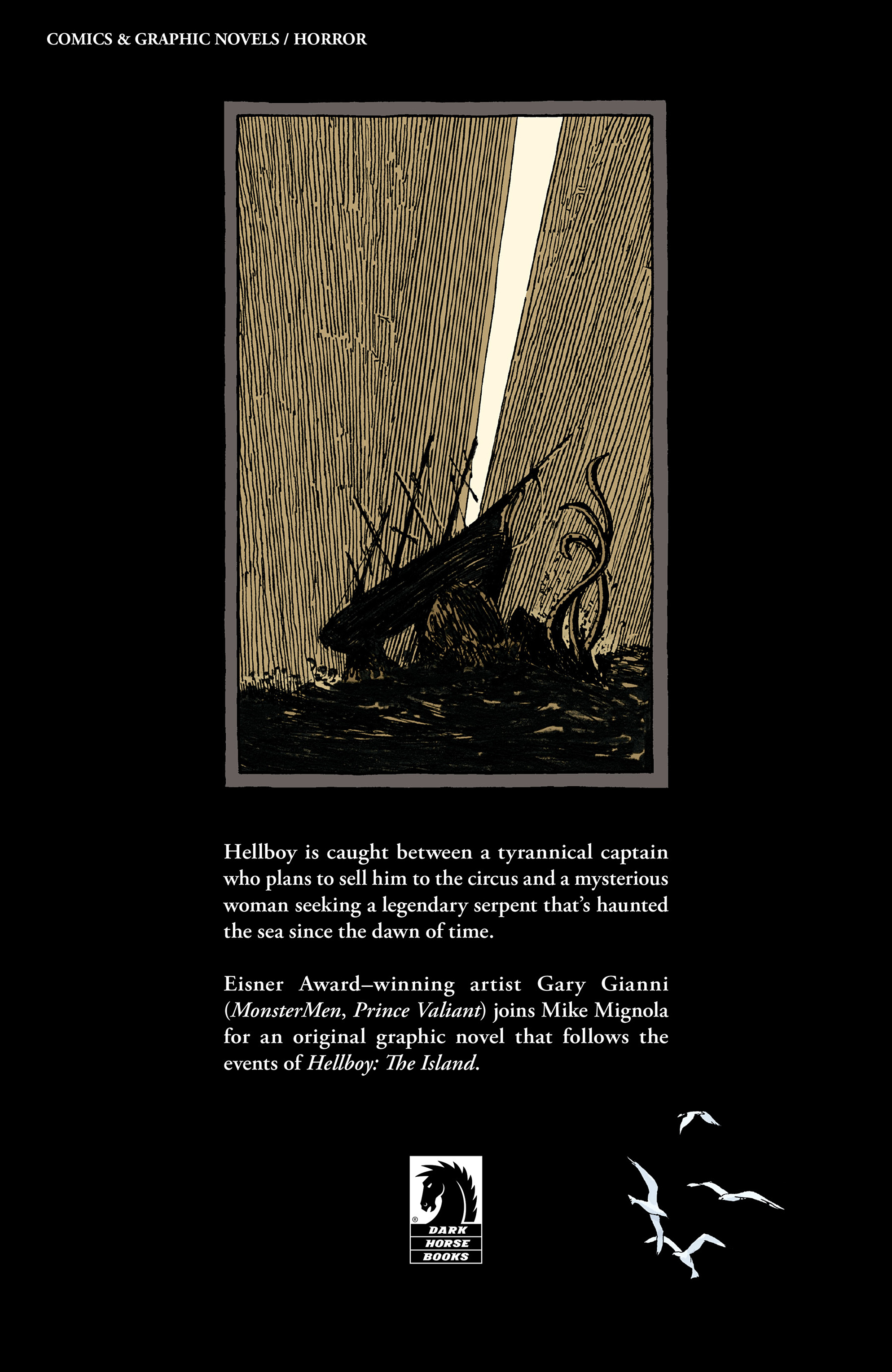 Read online Hellboy: Into the Silent Sea comic -  Issue # Full - 58