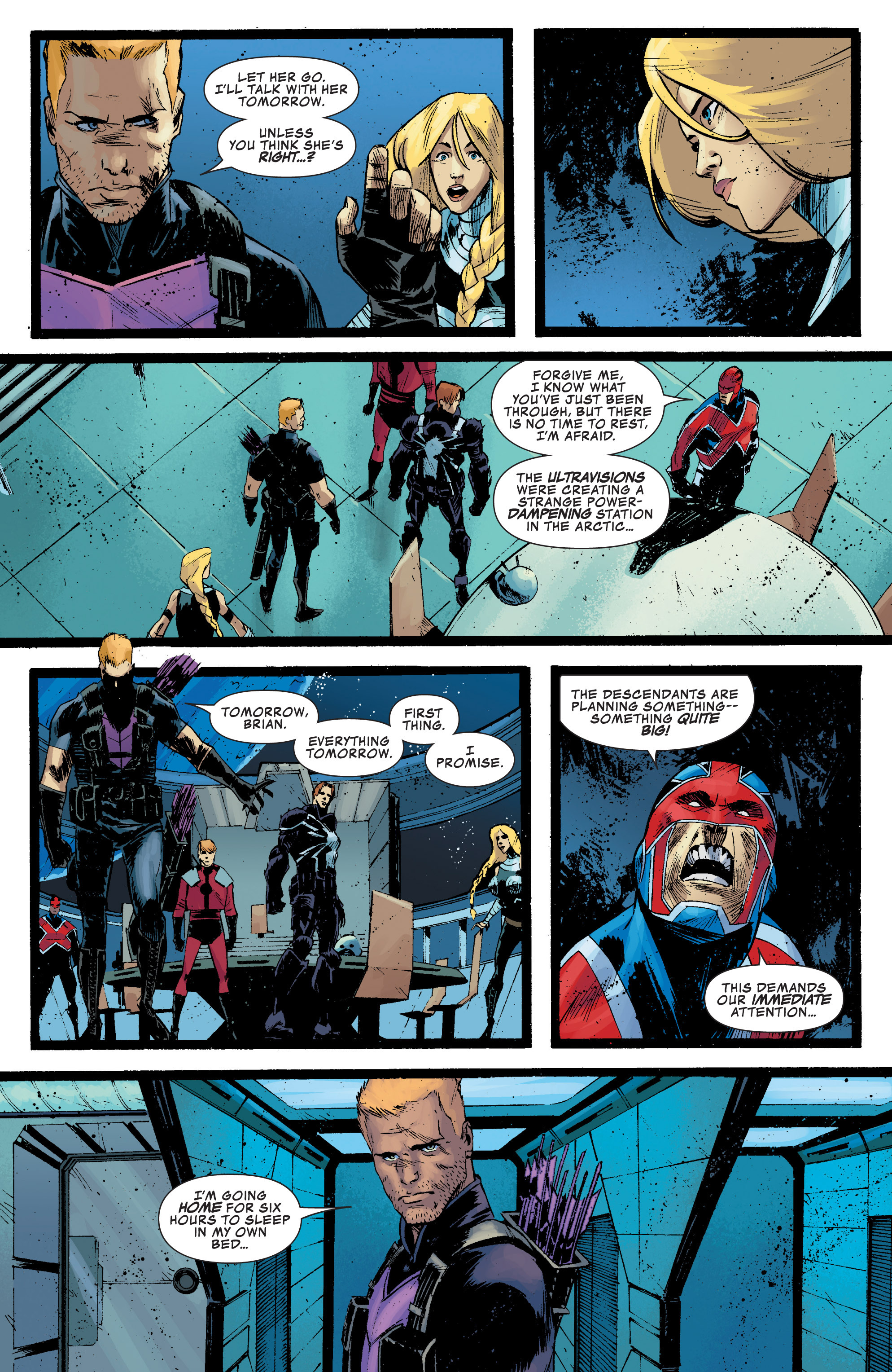 Read online Secret Avengers (2010) comic -  Issue #32 - 20