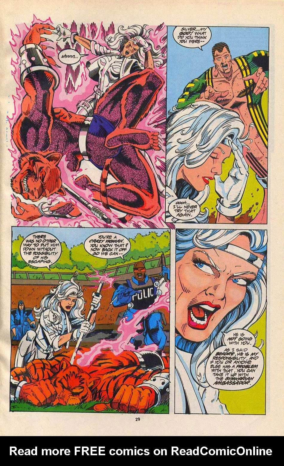 Read online Silver Sable and the Wild Pack comic -  Issue #27 - 22