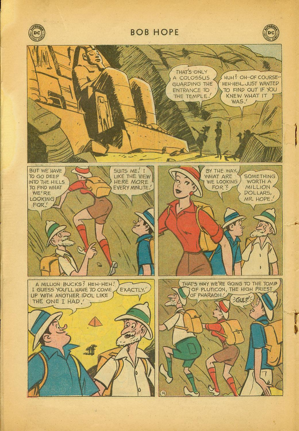 The Adventures of Bob Hope issue 64 - Page 18