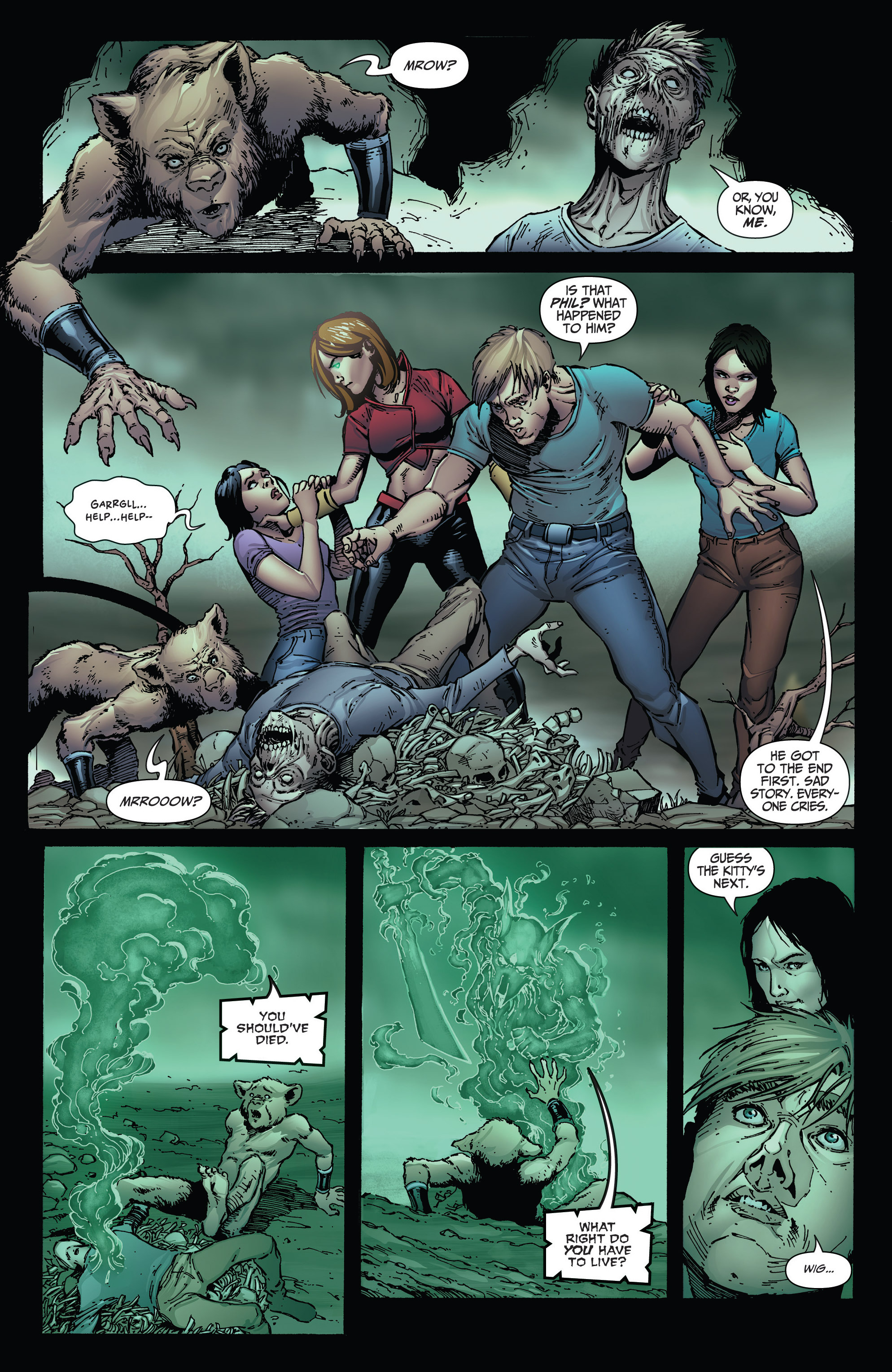 Read online Grimm Fairy Tales: Arcane Acre comic -  Issue # TPB 3 - 101