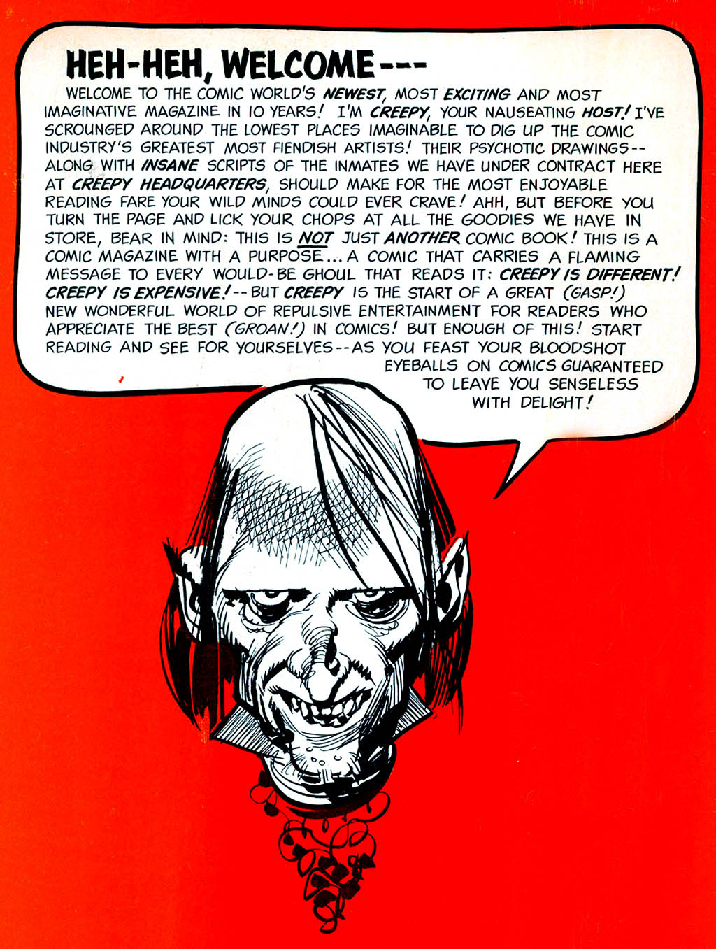 Creepy (1964) Issue #1 #1 - English 2