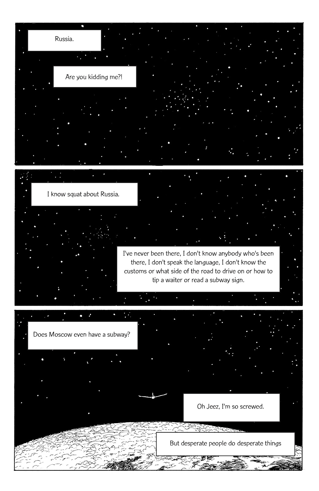 Read online Five Years comic -  Issue #7 - 4