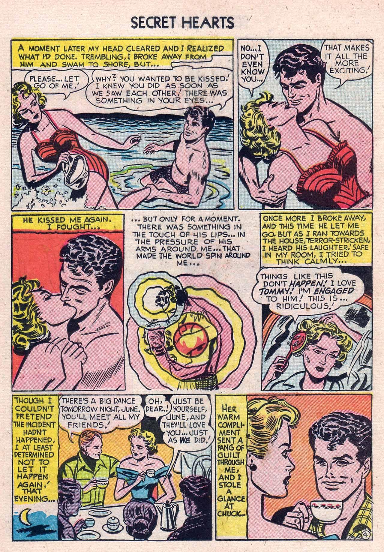 Read online Secret Hearts comic -  Issue #12 - 20