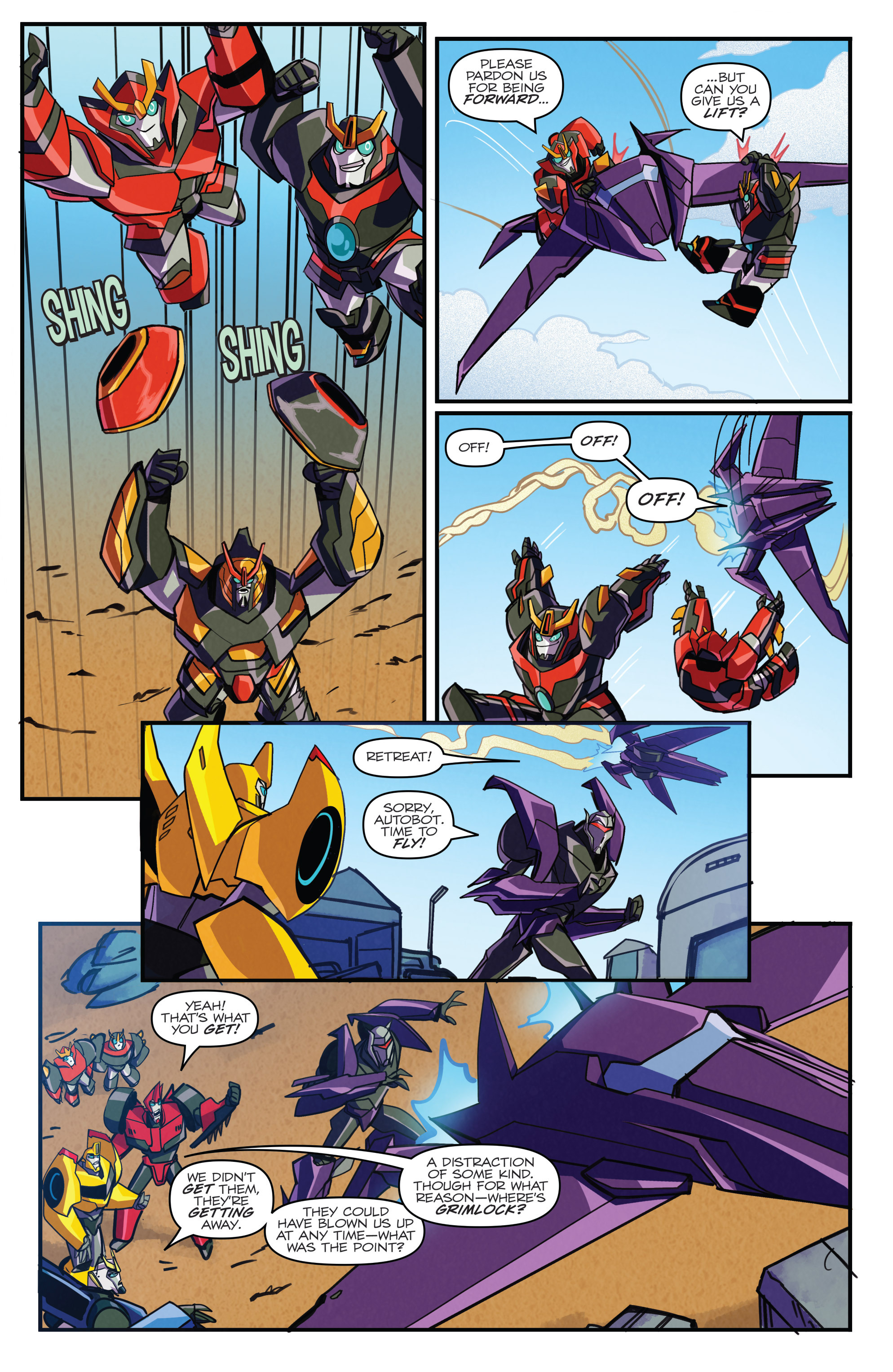 Read online Transformers: Robots In Disguise (2015) comic -  Issue #5 - 22