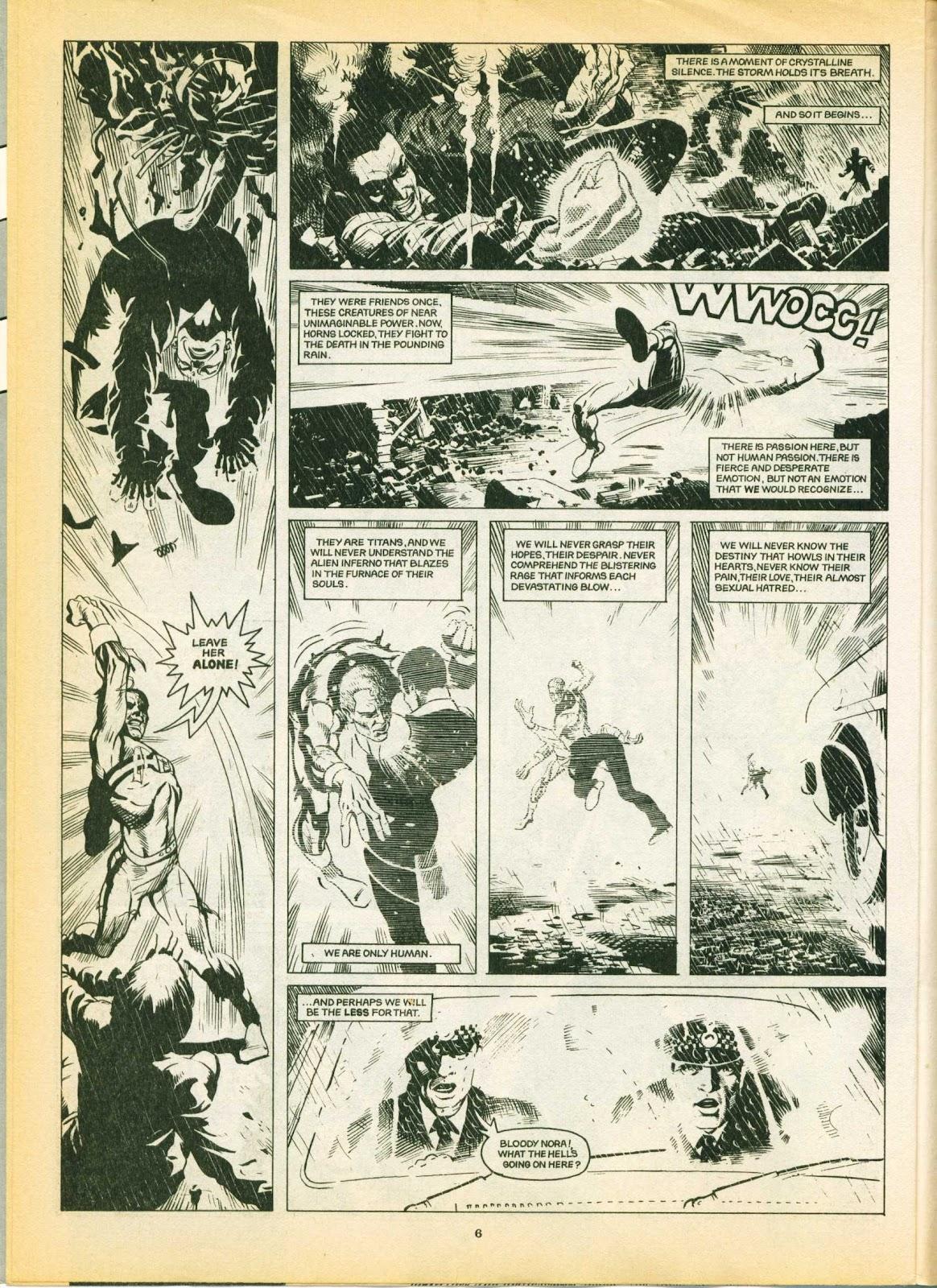 Warrior Issue #6 #7 - English 6