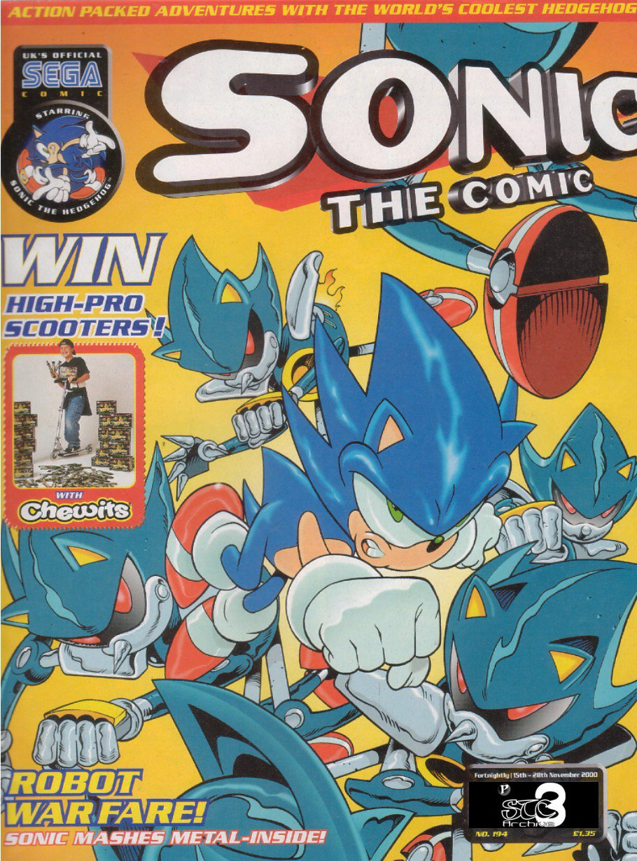 Read online Sonic the Comic comic -  Issue #194 - 1