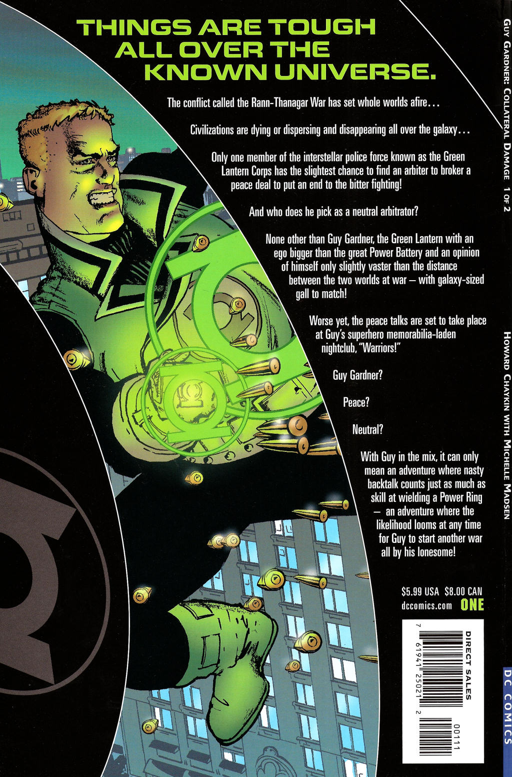Read online Guy Gardner: Collateral Damage comic -  Issue #1 - 46