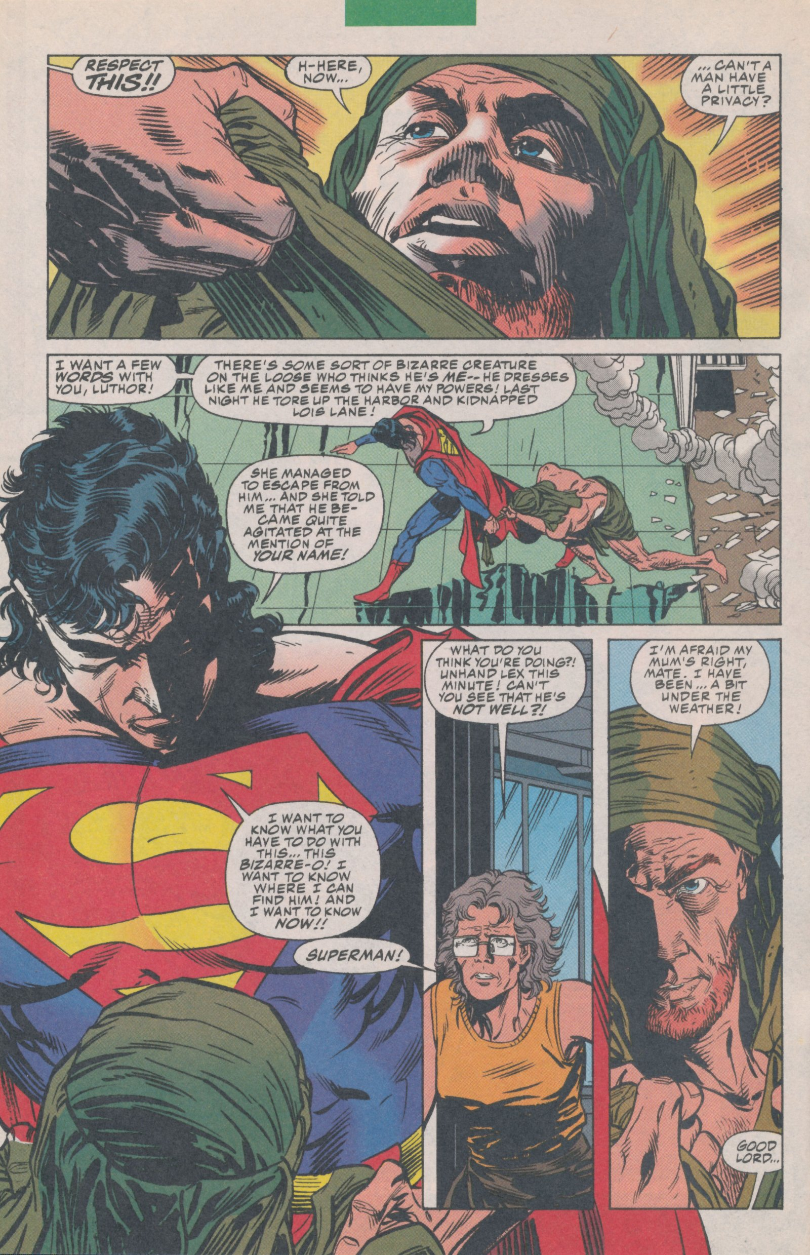 Read online Action Comics (1938) comic -  Issue #697 - 4