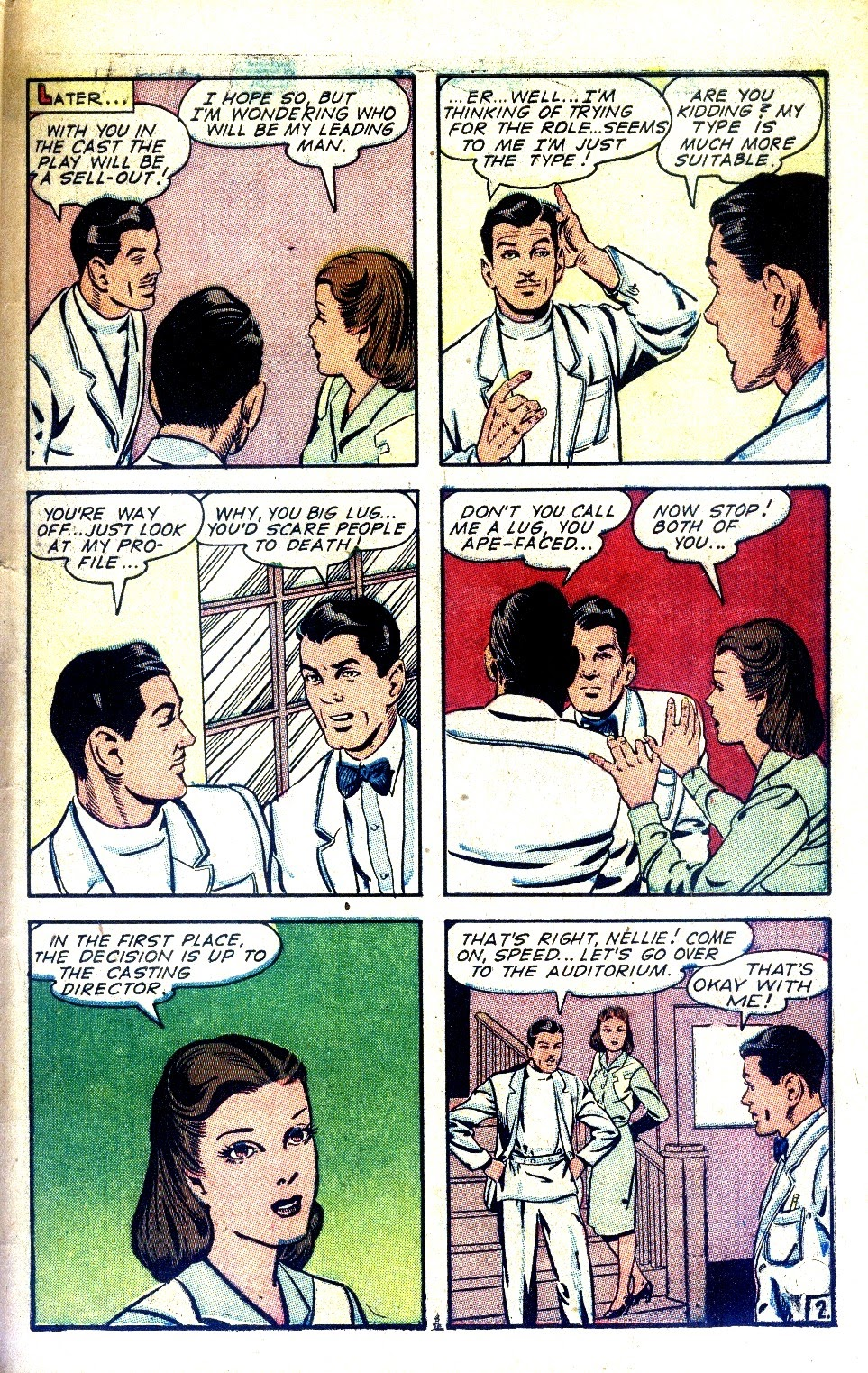 Read online Nellie The Nurse (1945) comic -  Issue #2 - 43