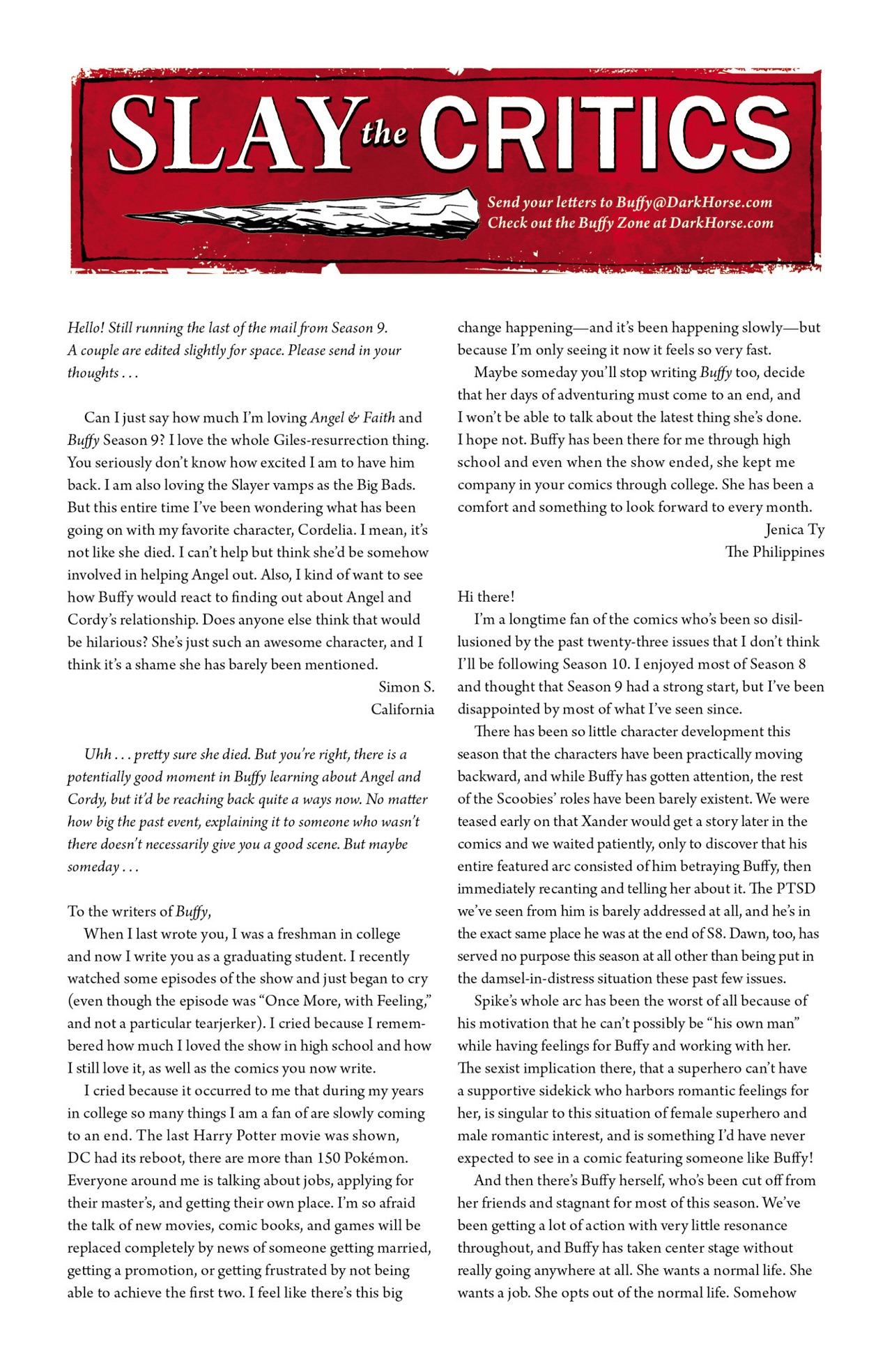 Read online Angel & Faith Season 10 comic -  Issue #2 - 25