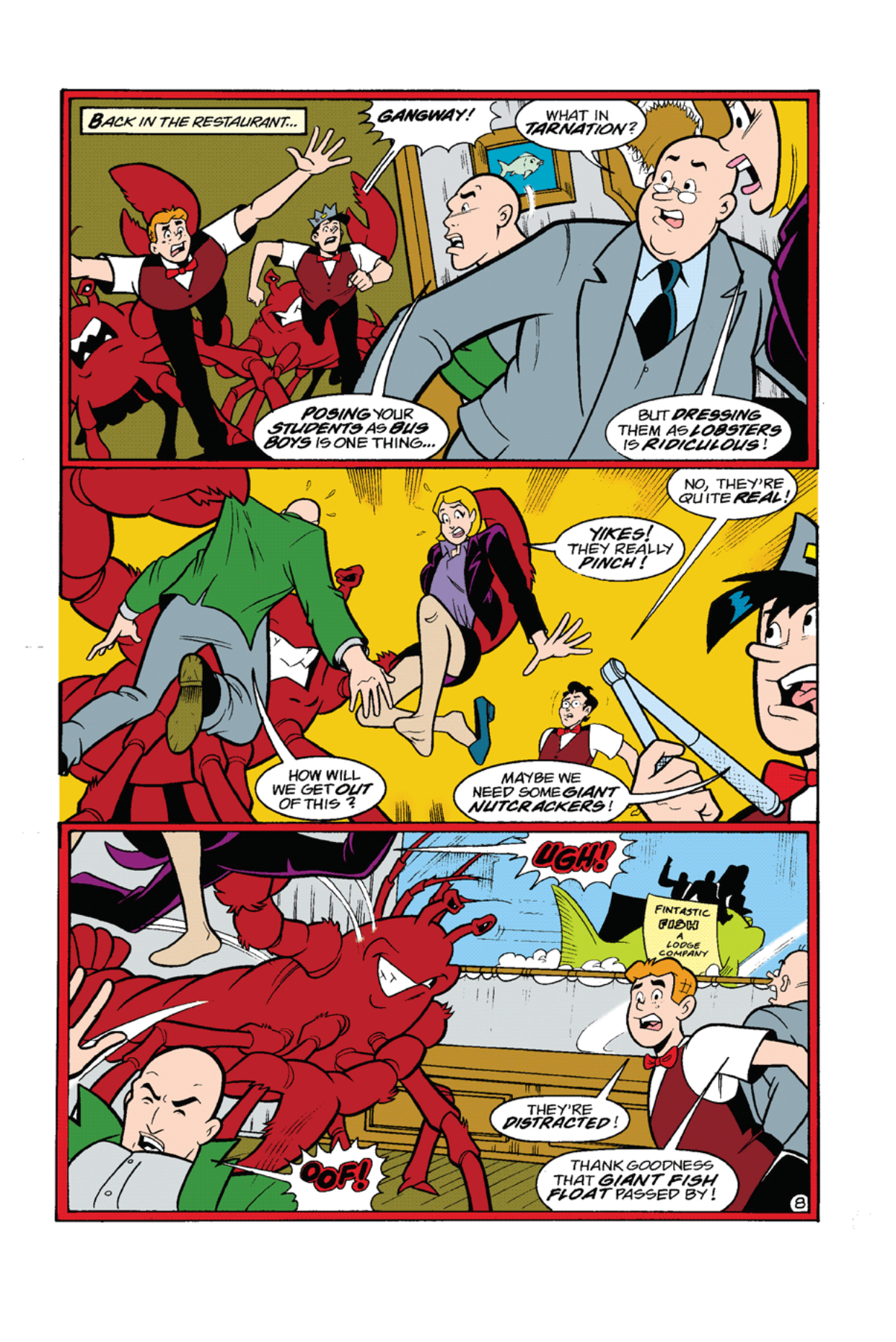 Read online Archie's Weird Mysteries comic -  Issue #8 - 10