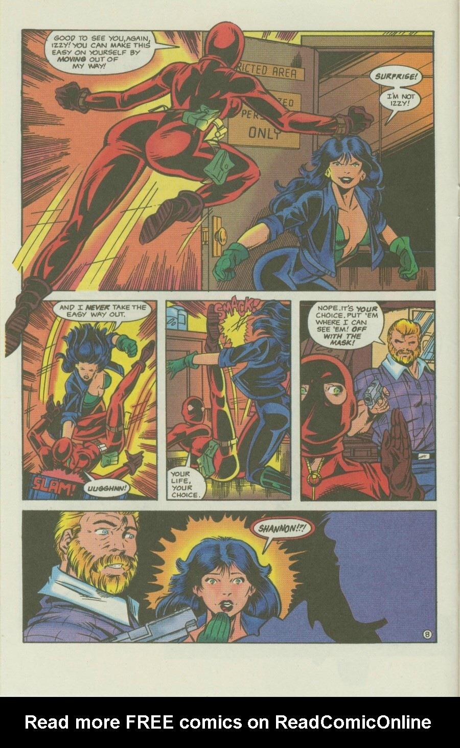 Read online Ex-Mutants comic -  Issue #8 - 10