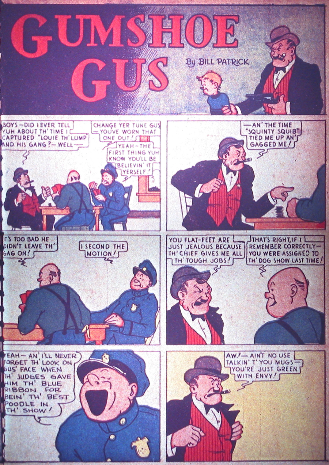 Read online Detective Comics (1937) comic -  Issue #1 - 36