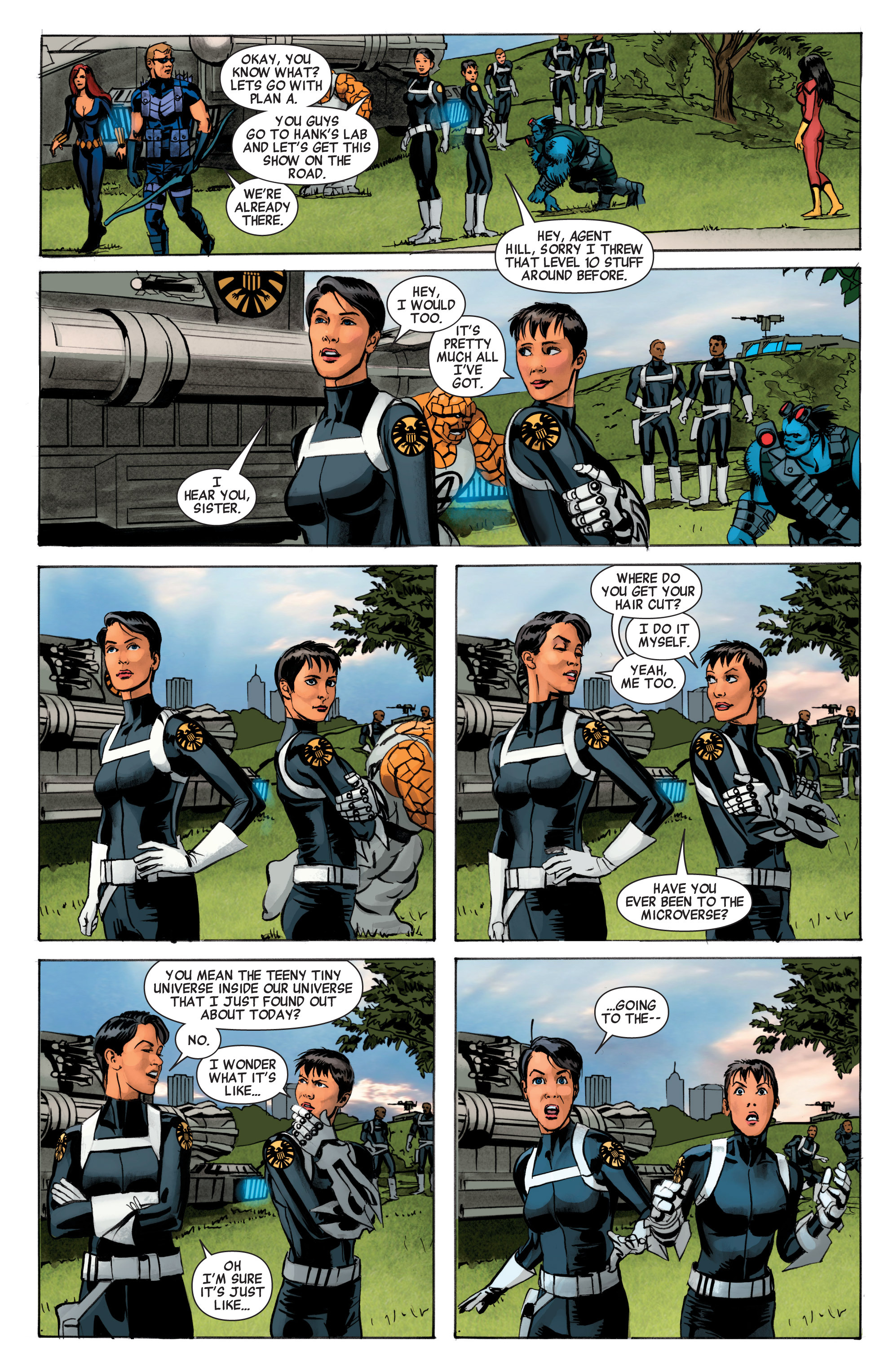 Read online Avengers (2010) comic -  Issue #34 - 21