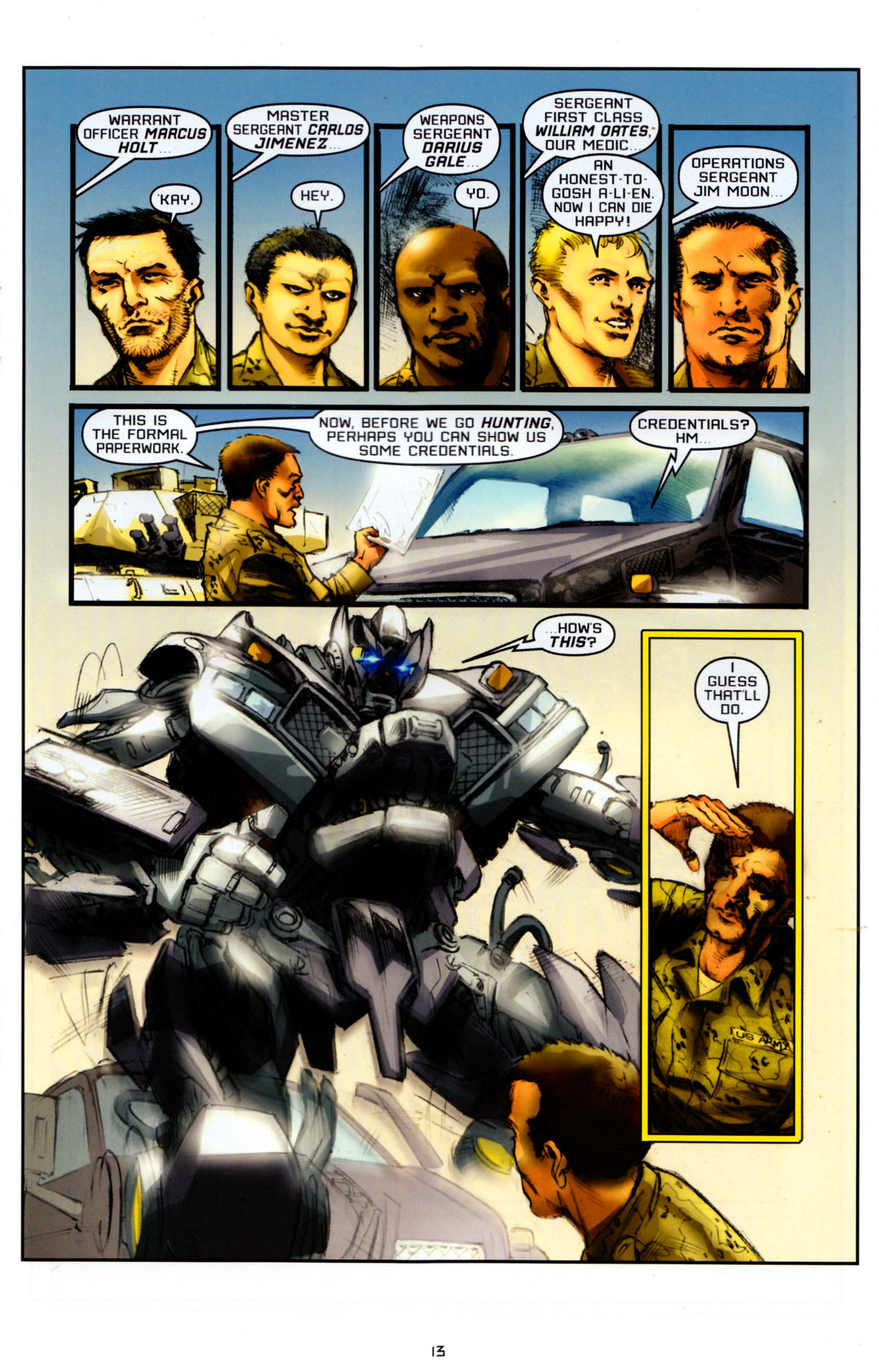 Read online Transformers: Saga of the Allspark comic -  Issue #4 - 16