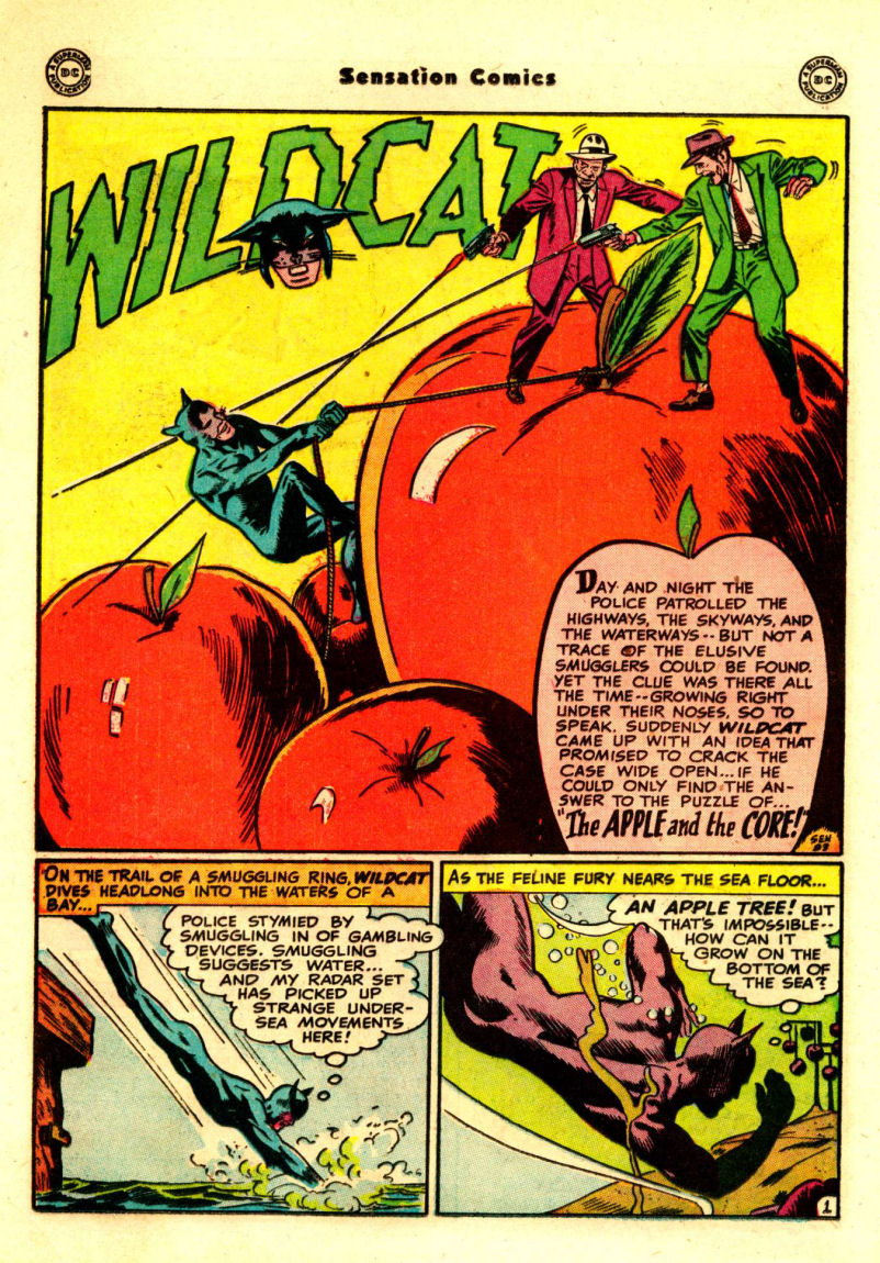 Read online Sensation (Mystery) Comics comic -  Issue #88 - 15