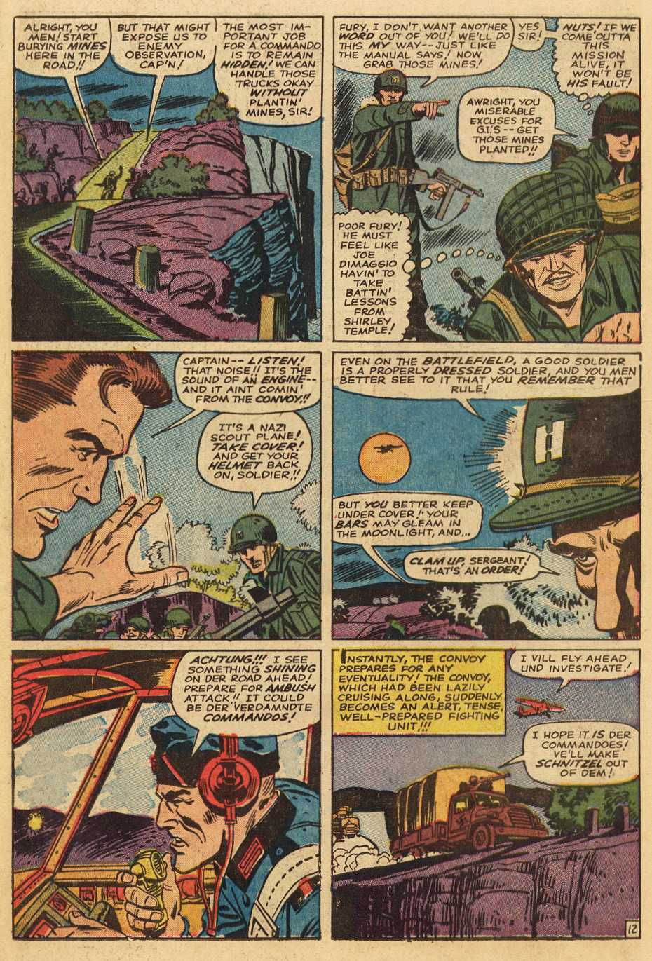 Read online Sgt. Fury comic -  Issue # _Special 2 - 54