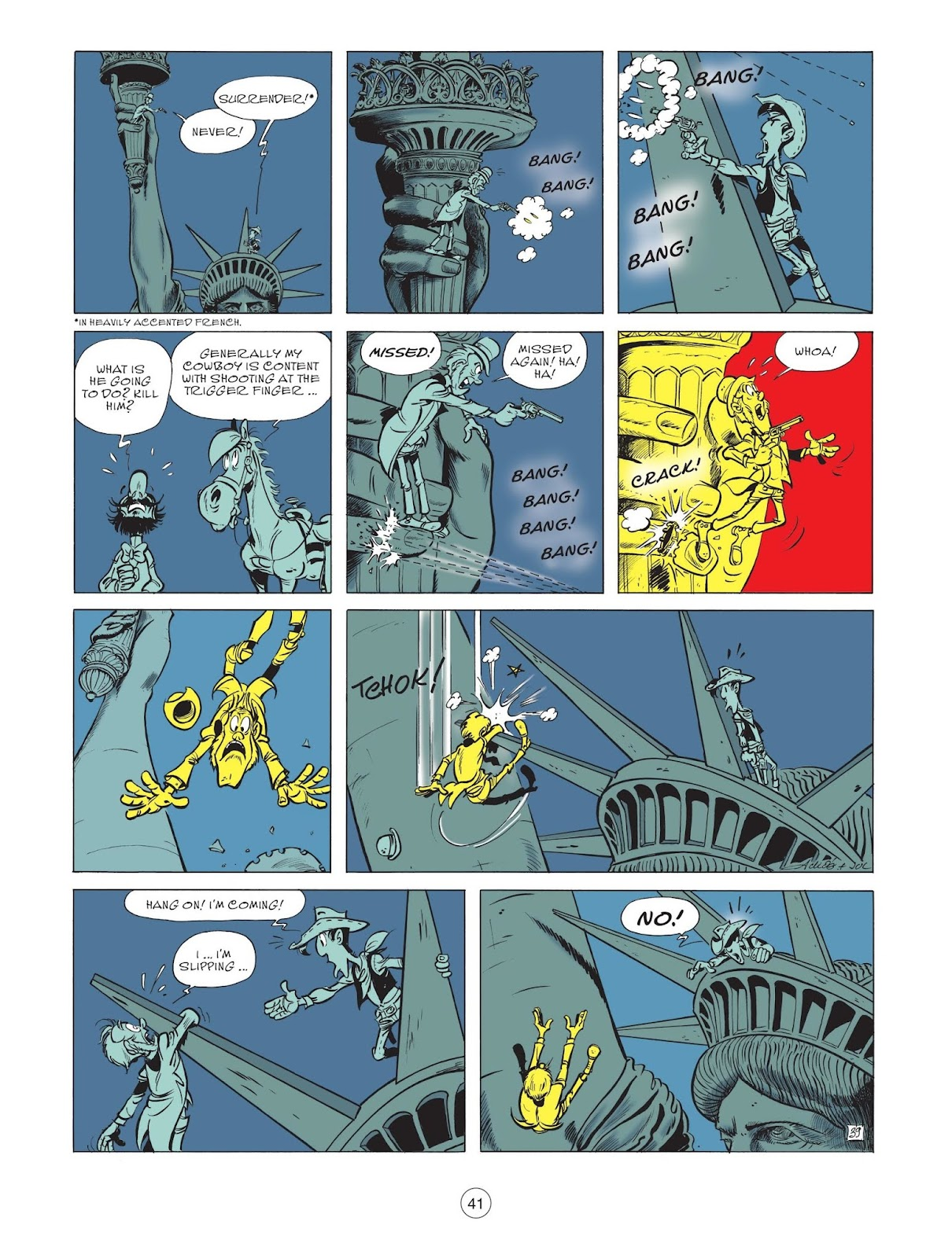 A Lucky Luke Adventure issue 71 - Page 43