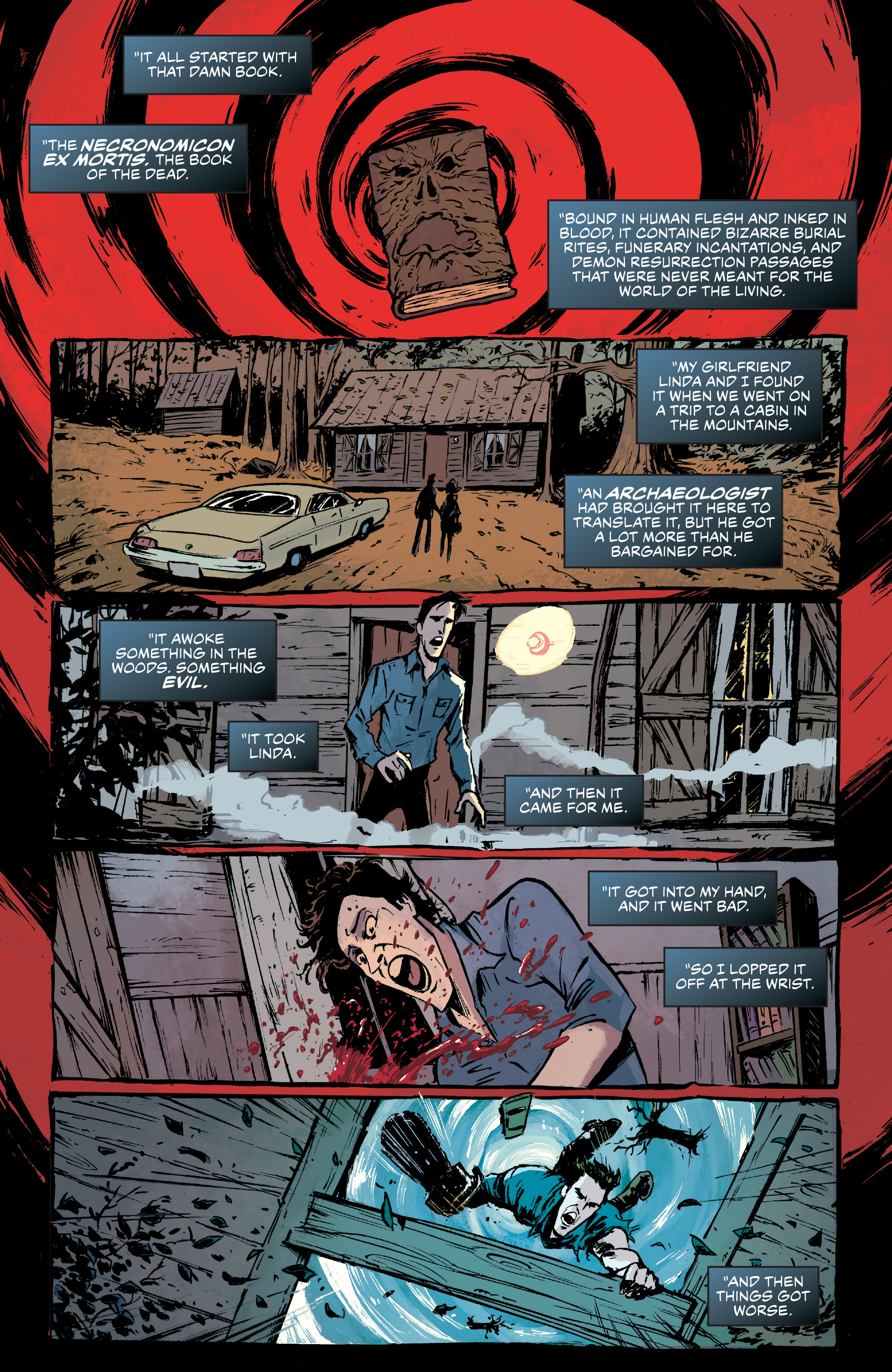 Read online Ash Vs. The Army of Darkness comic -  Issue #0 - 6