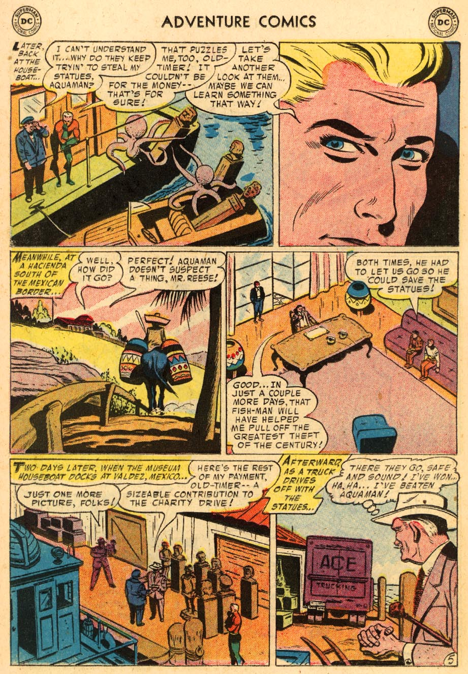 Read online Adventure Comics (1938) comic -  Issue #228 - 20