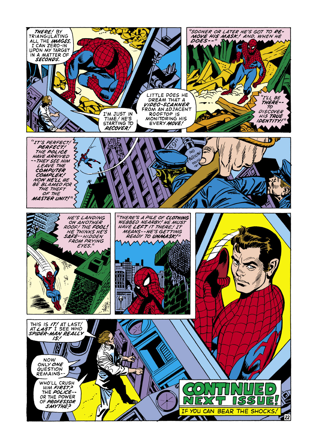 The Amazing Spider-Man (1963) 105 Page 22