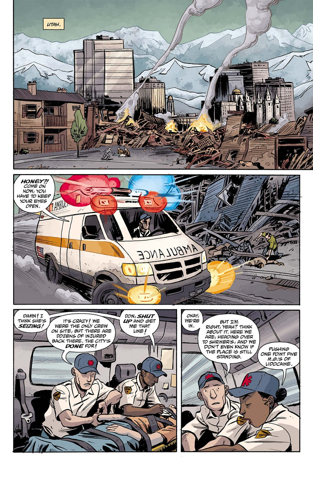 Read online B.P.R.D. Hell on Earth: The Return of the Master comic -  Issue #5 - 15